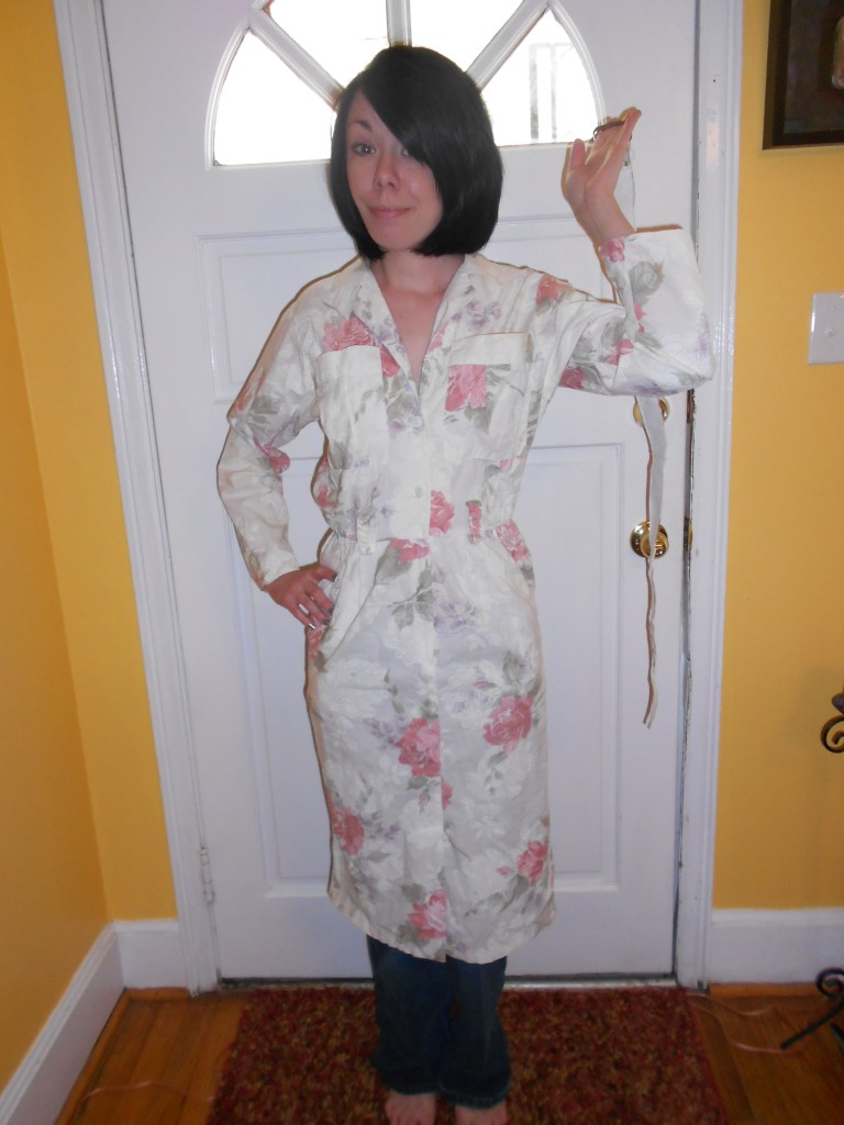 Day 214: A Lilly Pulitzer-Inspired Dyed Dress Refashion 1