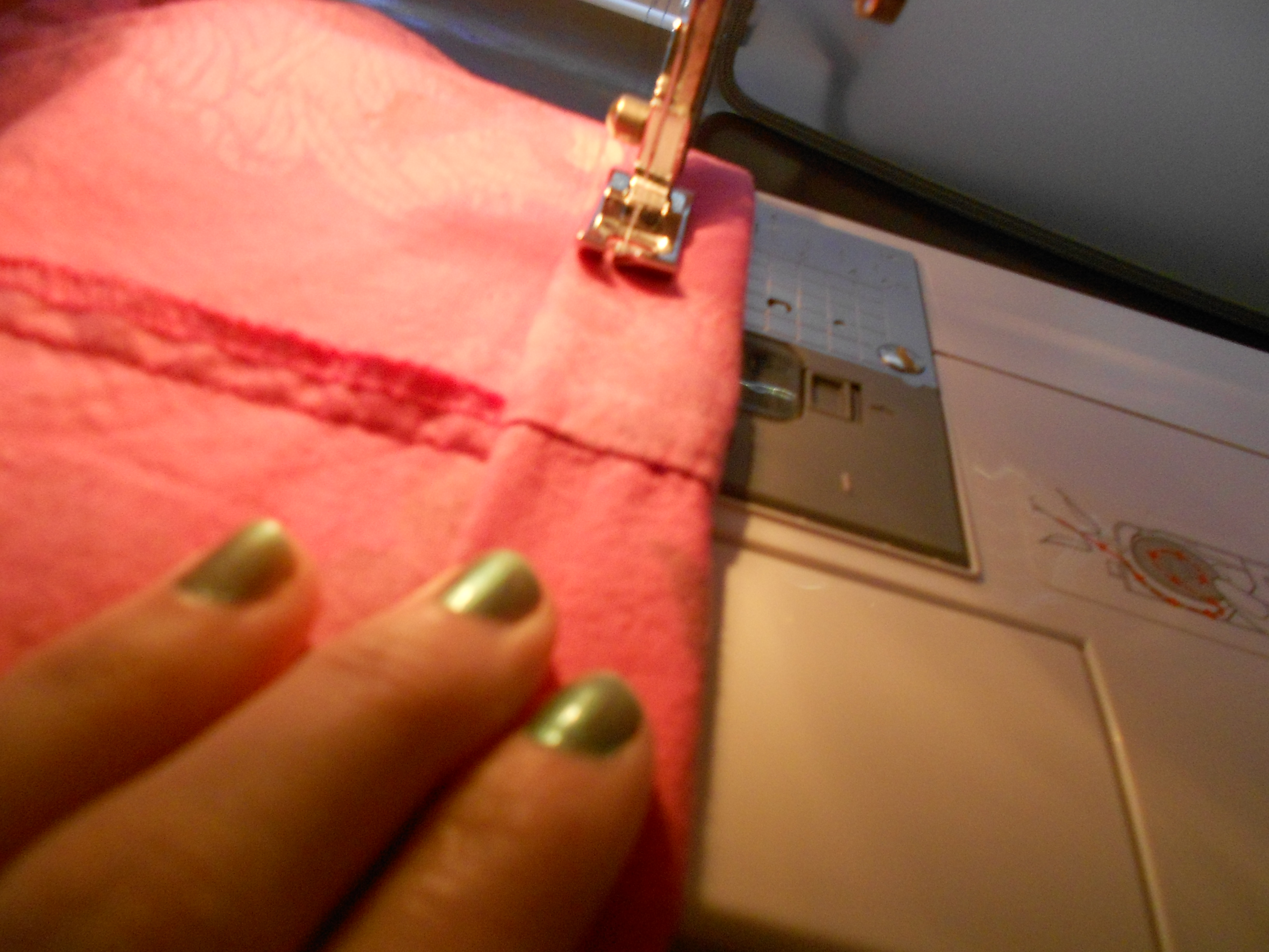 Day 214: A Lilly Pulitzer-Inspired Dyed Dress Refashion 10