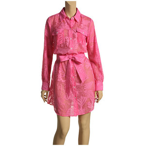 Day 214:  A Lilly Pulitzer-Inspired Dyed Dress Refashion 12
