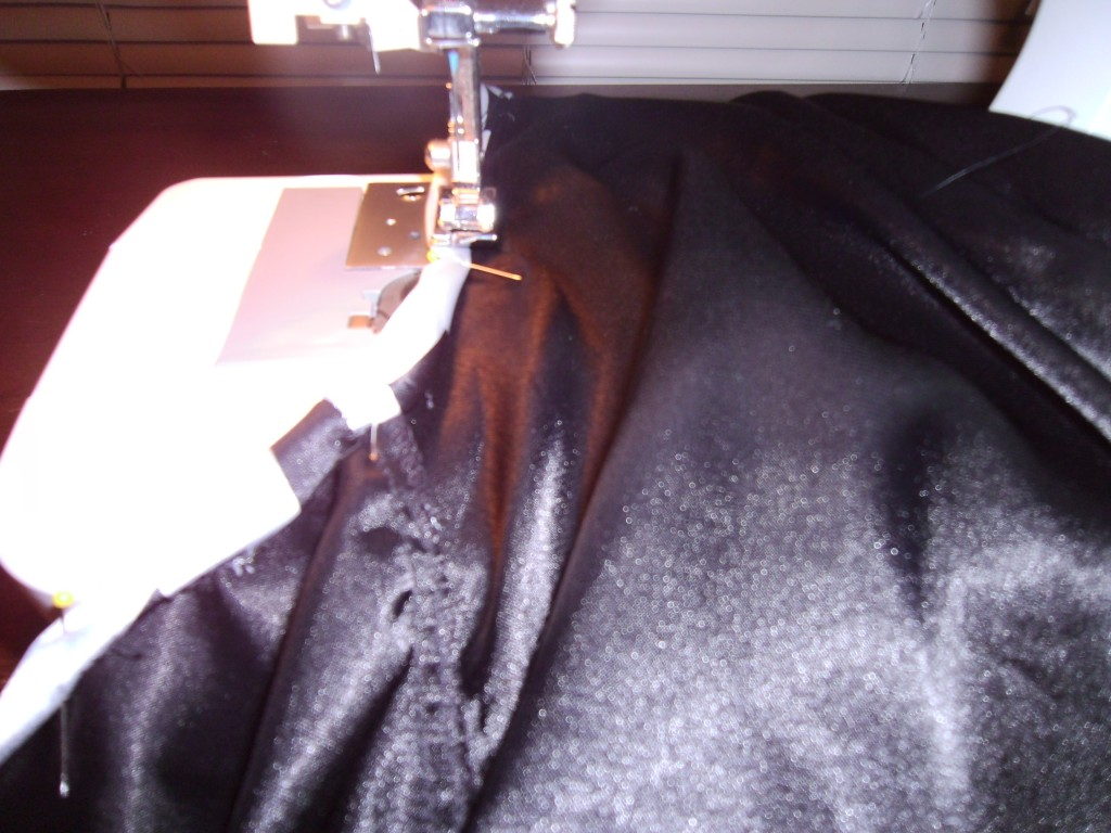 Day 184: How to Take In a Dress for New Year's Eve 3