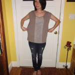 Day 186:  A Ruffled Tee Fit For Me!