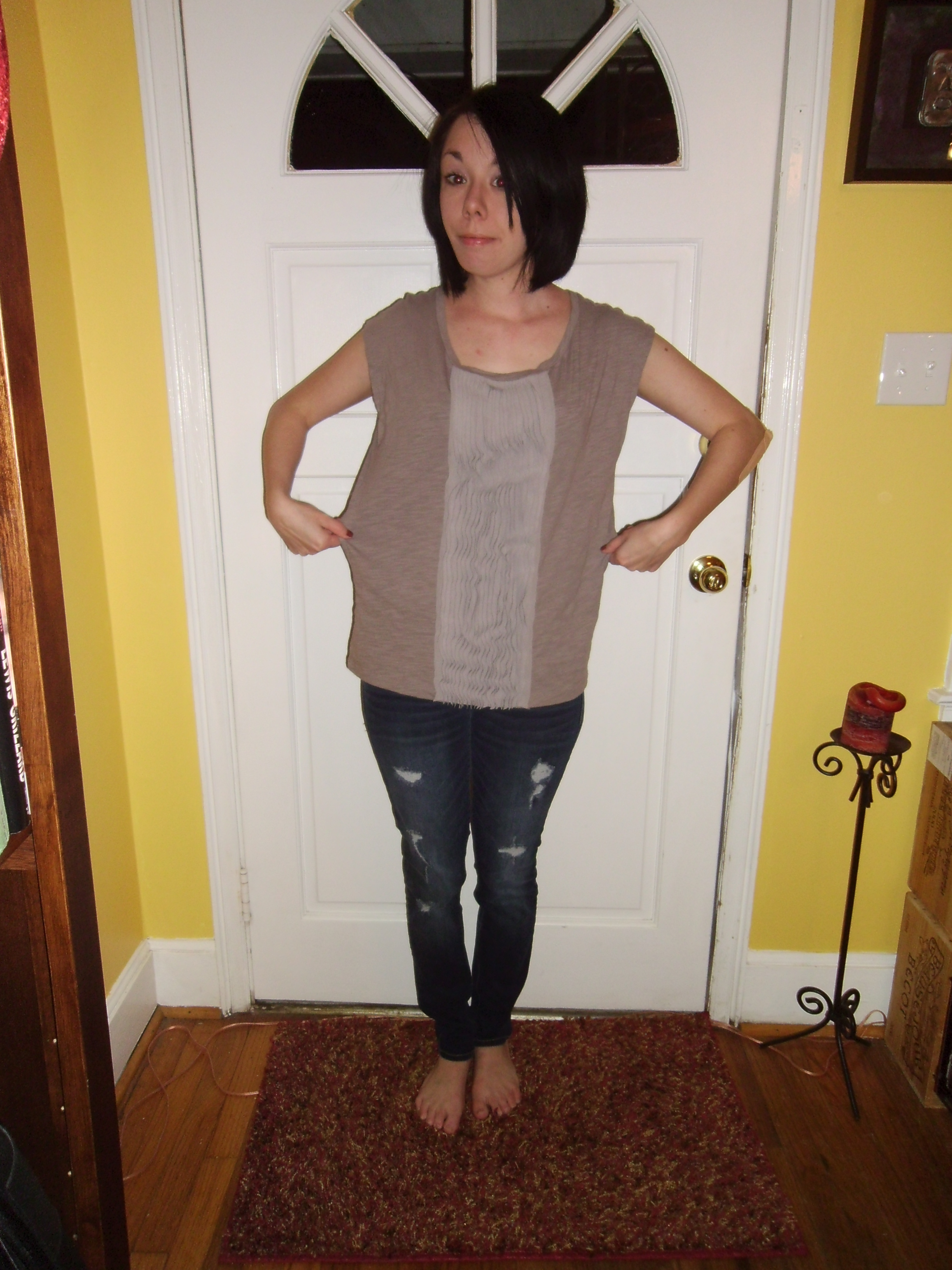 Day 186: A Ruffled Tee Fit For Me! 2