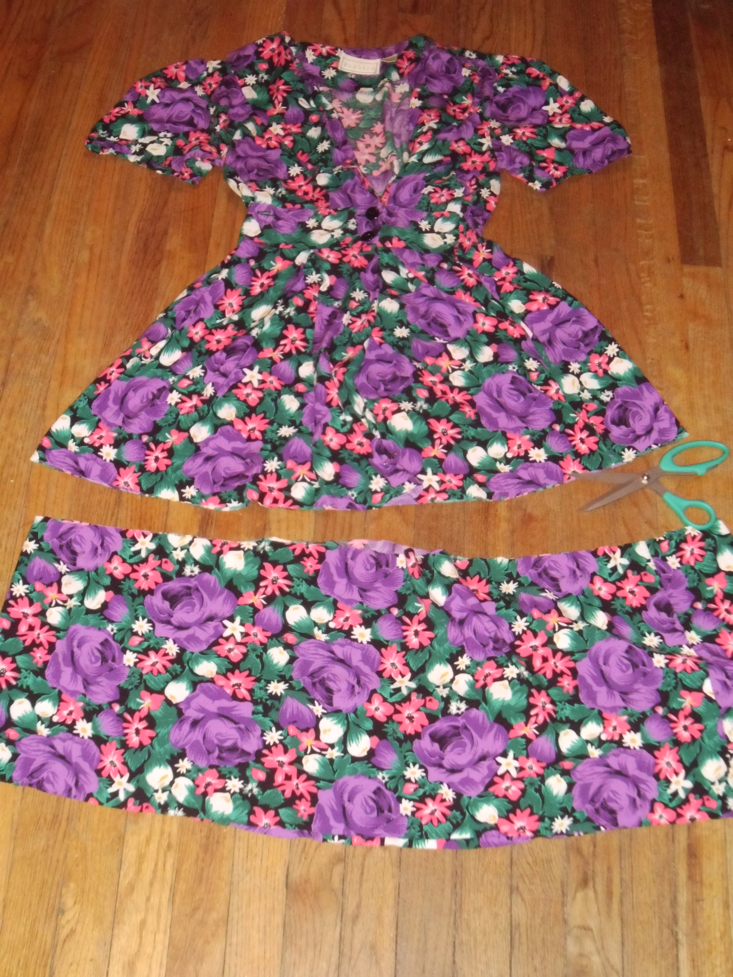 Day 194: Flowers for a Rainy Day Dress 4