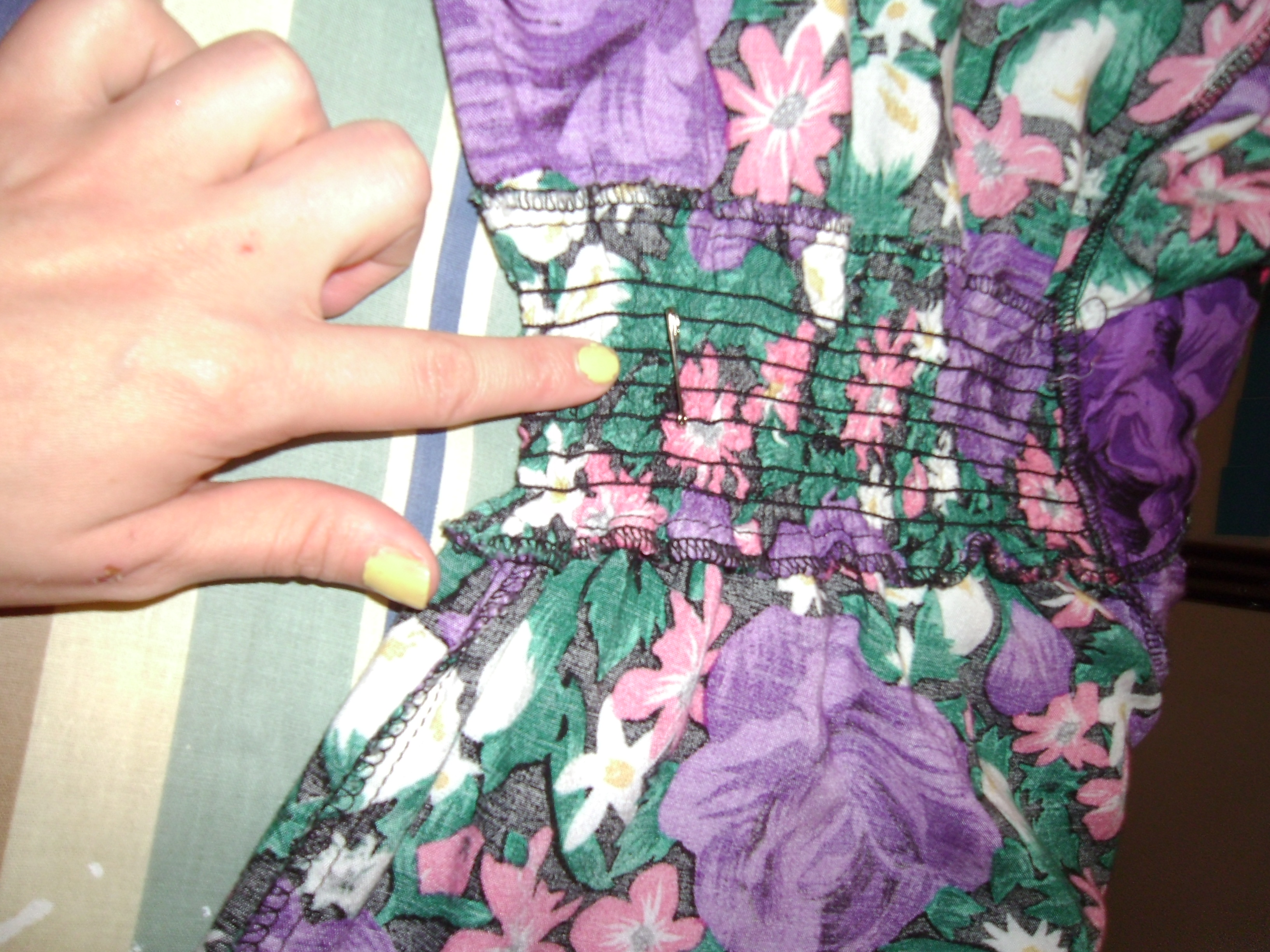 Day 194: Flowers for a Rainy Day Dress 6