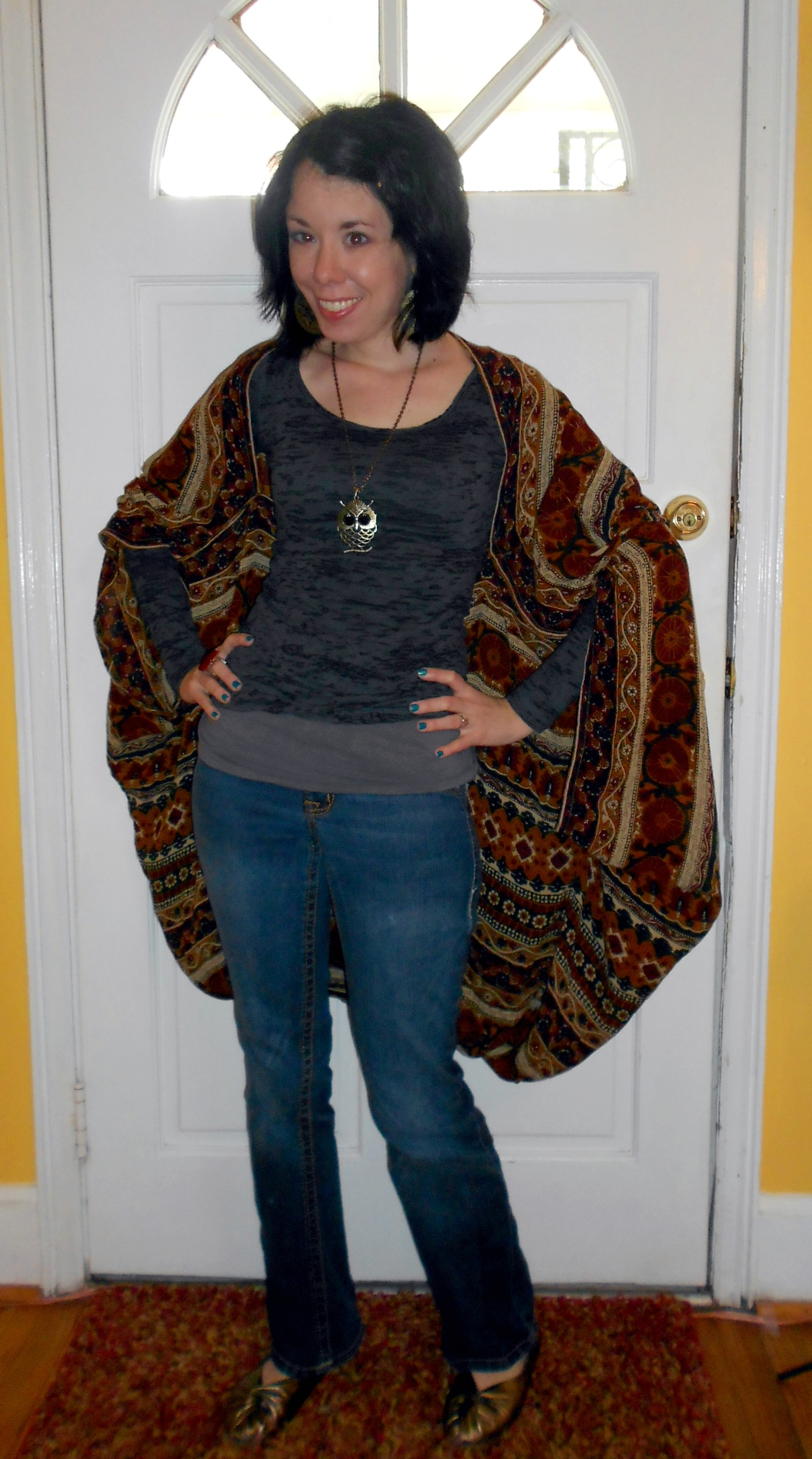 Day 225:  Windy Day Batwing Coverup 7