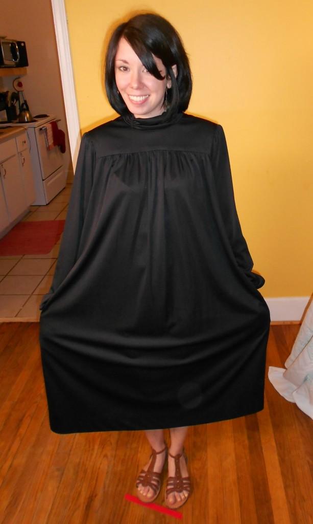 refashionista little black dress refashion
