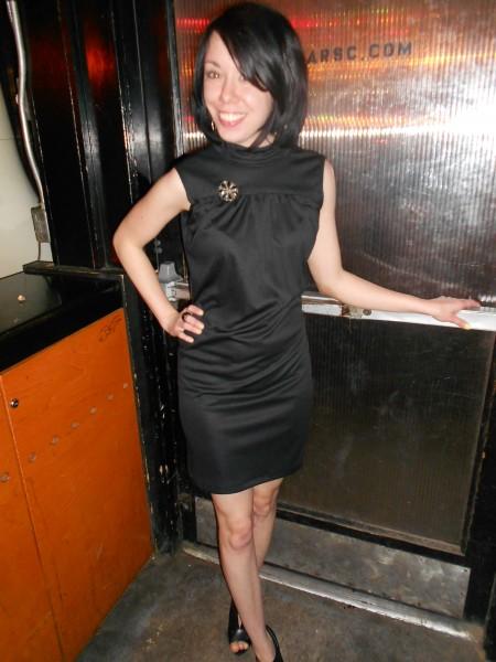 refashionista little black dress refashion after