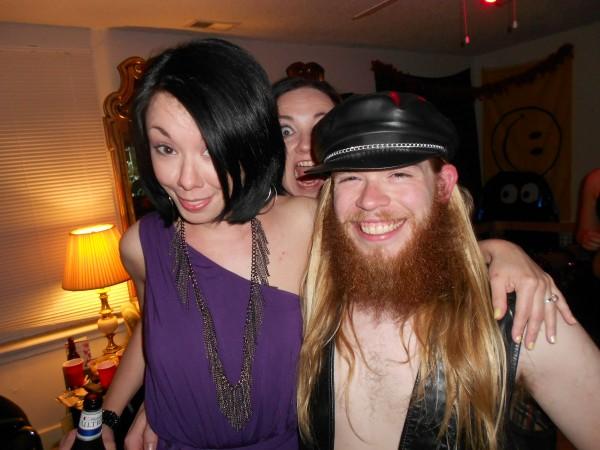 Jillian and her friend JJ