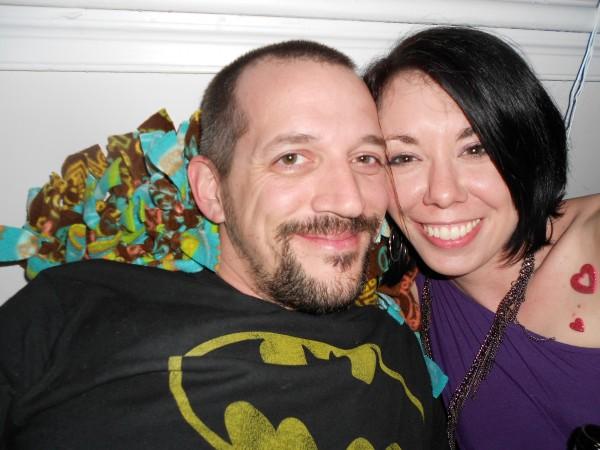 Jillian and her friend Jeff