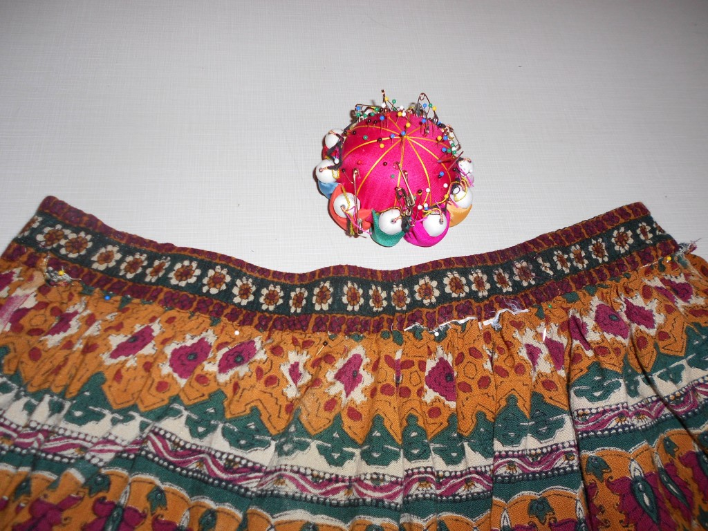 pinning skirt