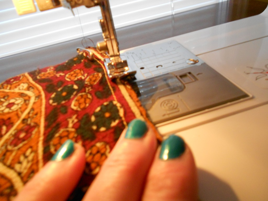 sewing arm hole