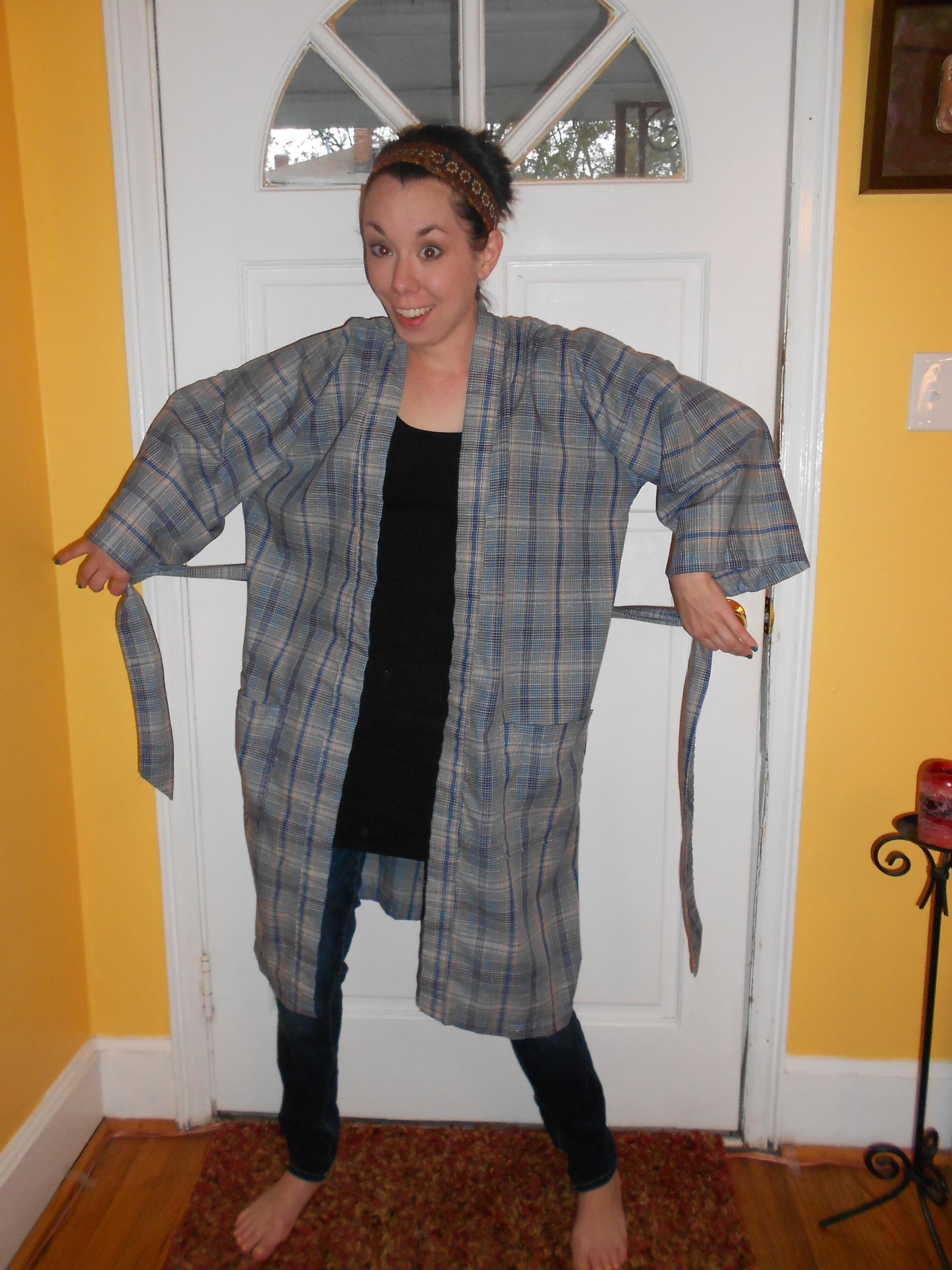 Day 227:  Kimono Jacket 2