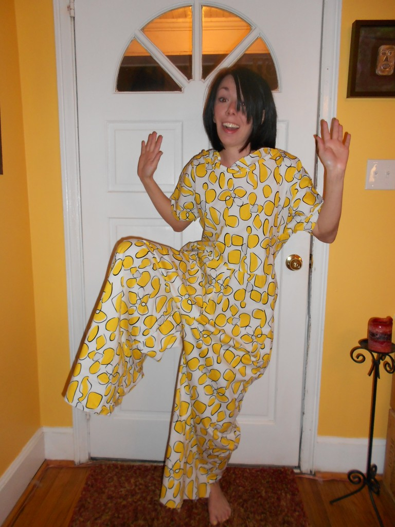 Day 230: Send in the Clowns: A Jumpsuit to Dress Refashion 4