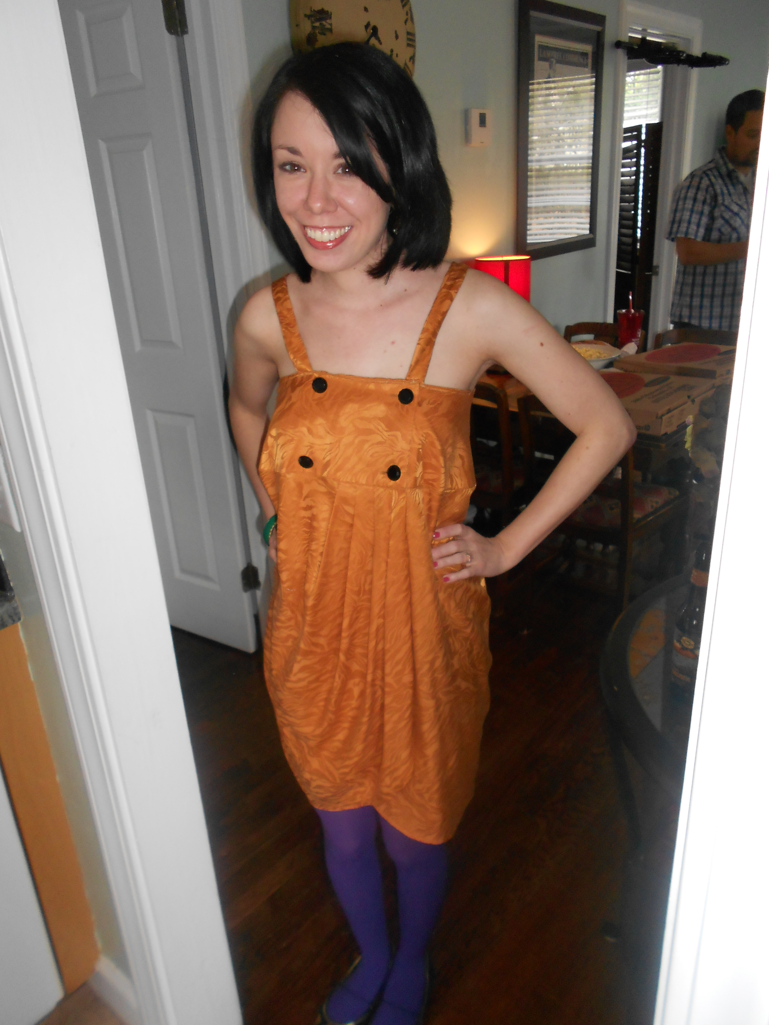 Day 233:  Mardi Gras Dress 8