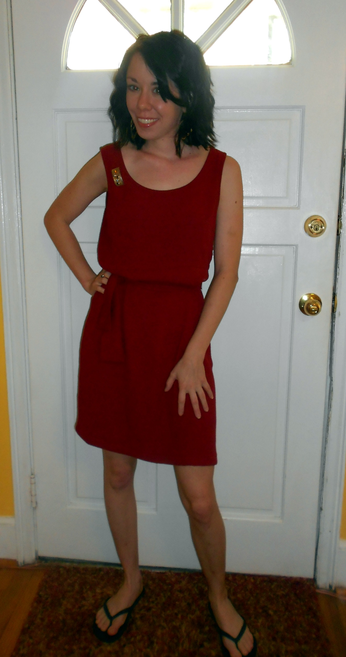 Day 259:  Seeing Red Dress 6