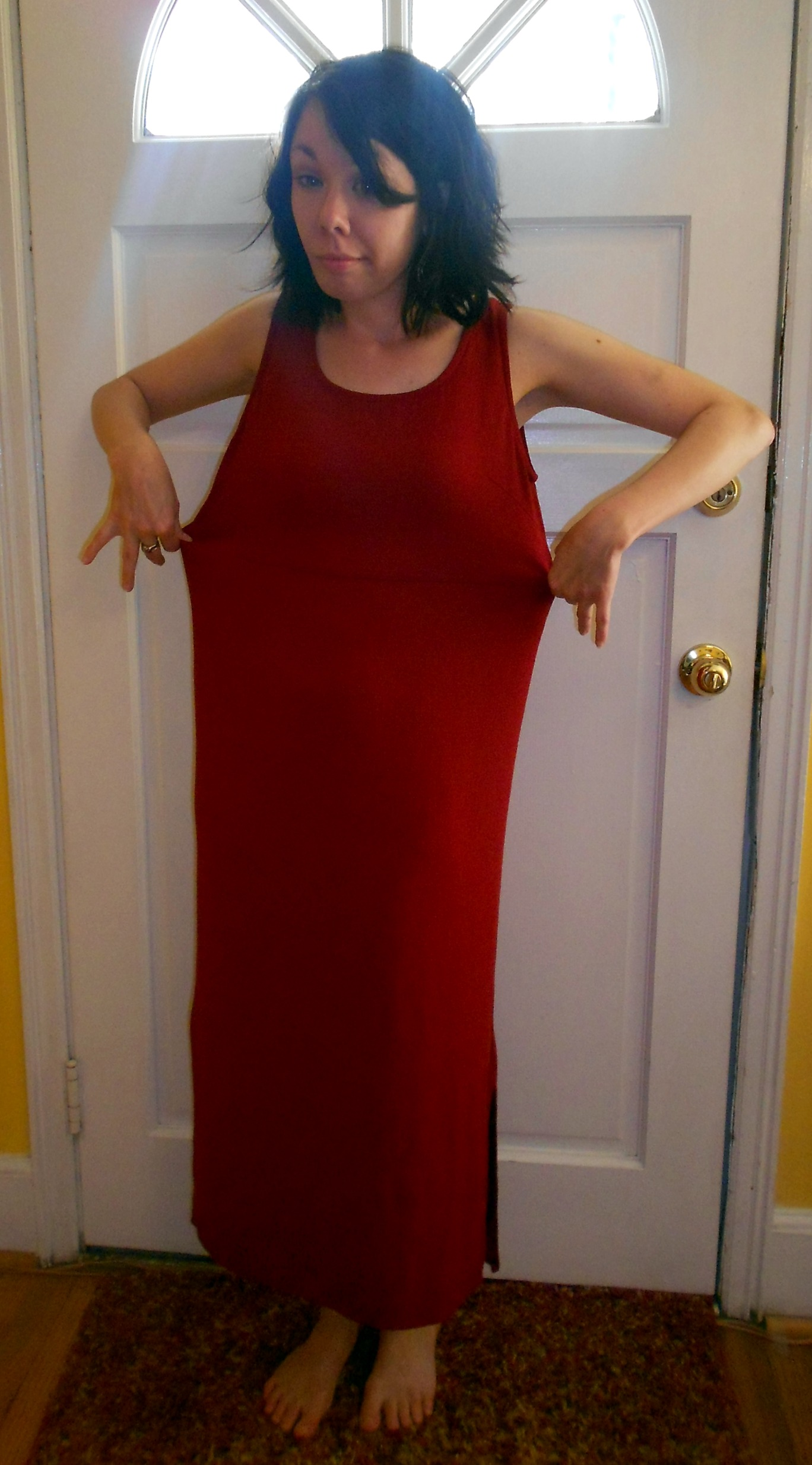 Day 259:  Seeing Red Dress 2