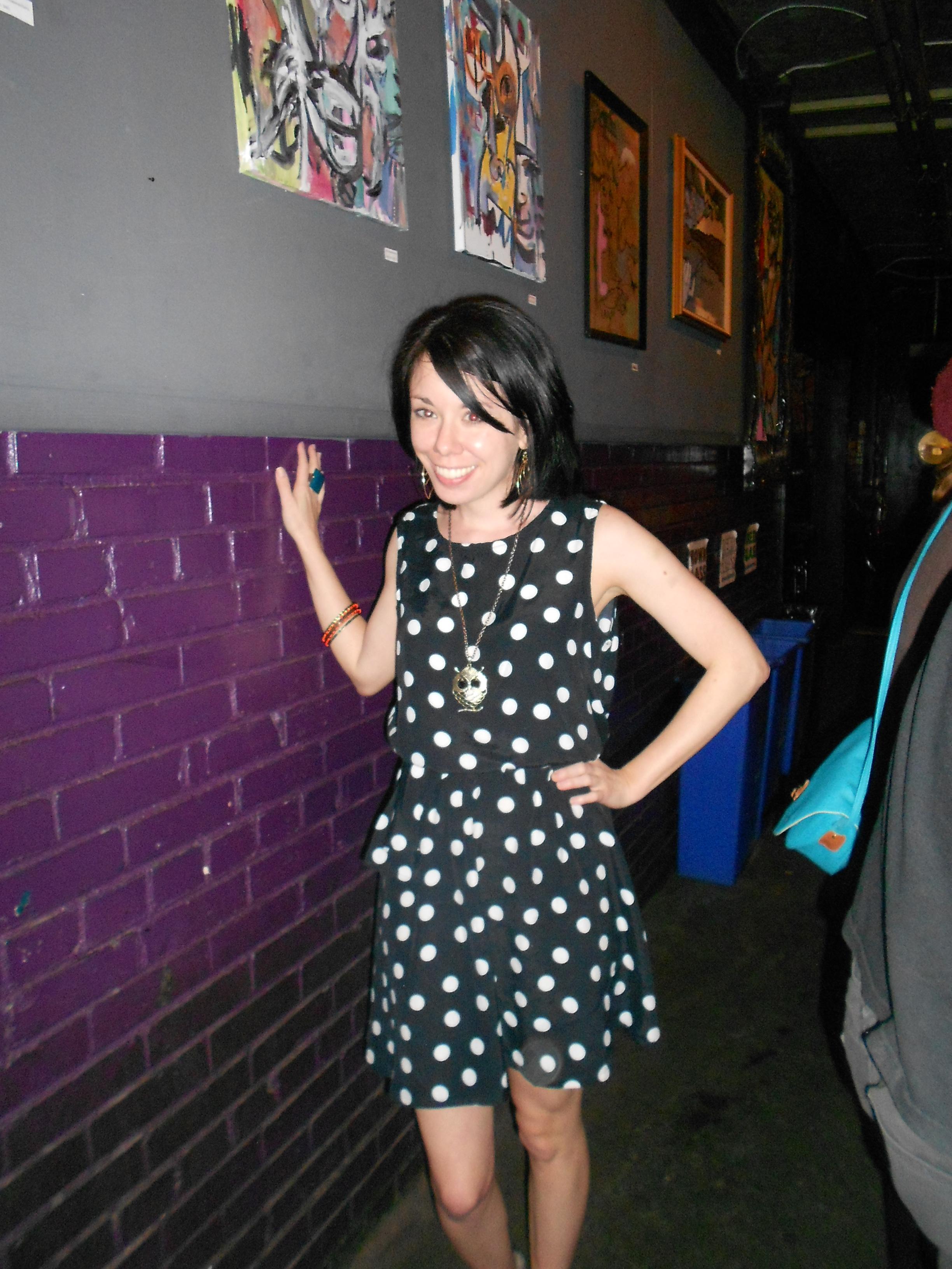 Day 243: Feeling Spotty Dress 13