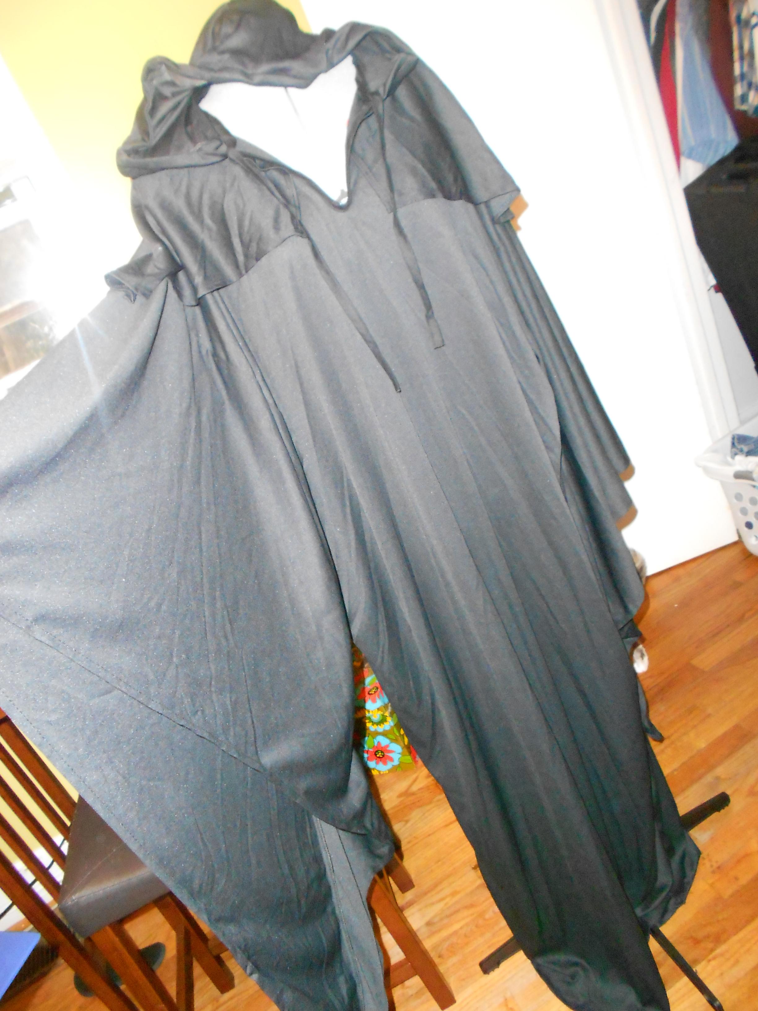Day 252: DIY Vampira Costume 3