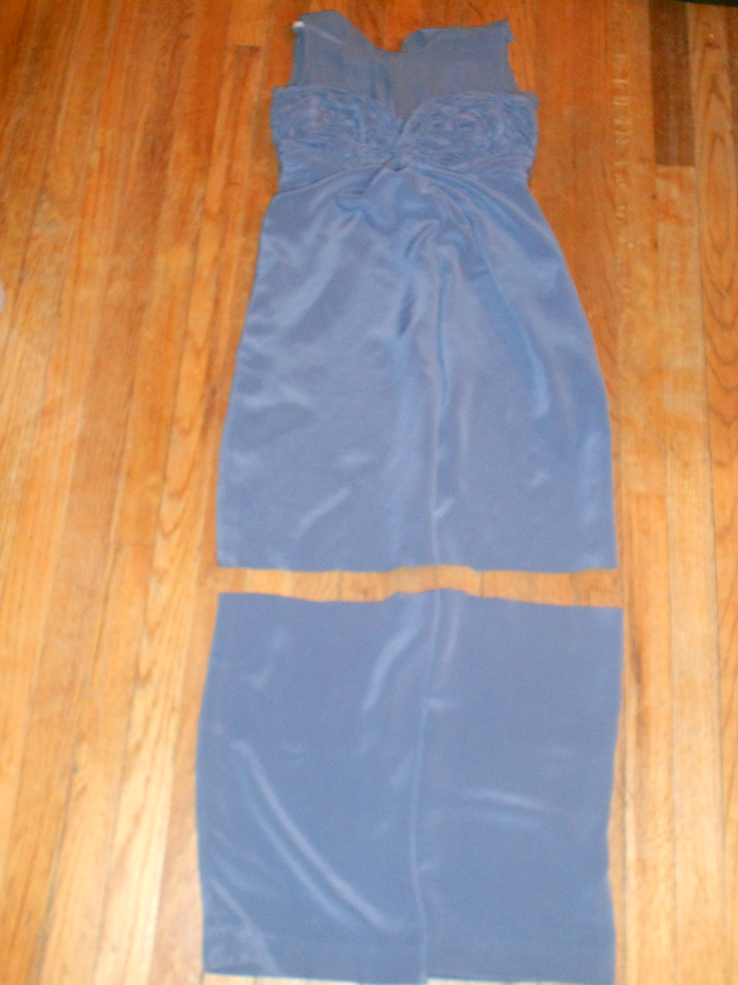 Day 254: Happy Birthday to Me: A Dyed Silk Jumpsuit-to-Dress Refashion 8
