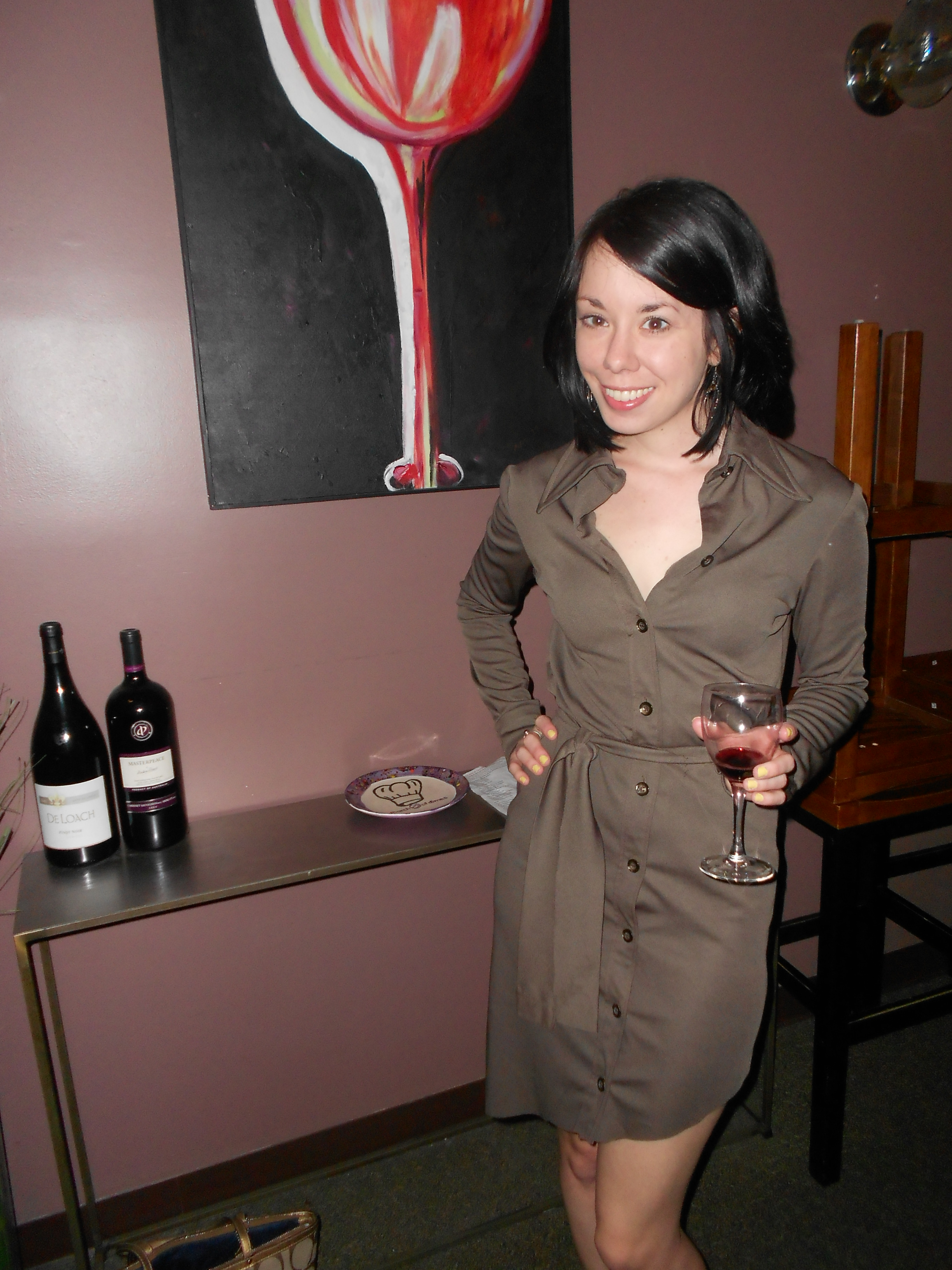Day 253:  Wino Dress 6