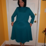 Day 256:  Teal Day Dress