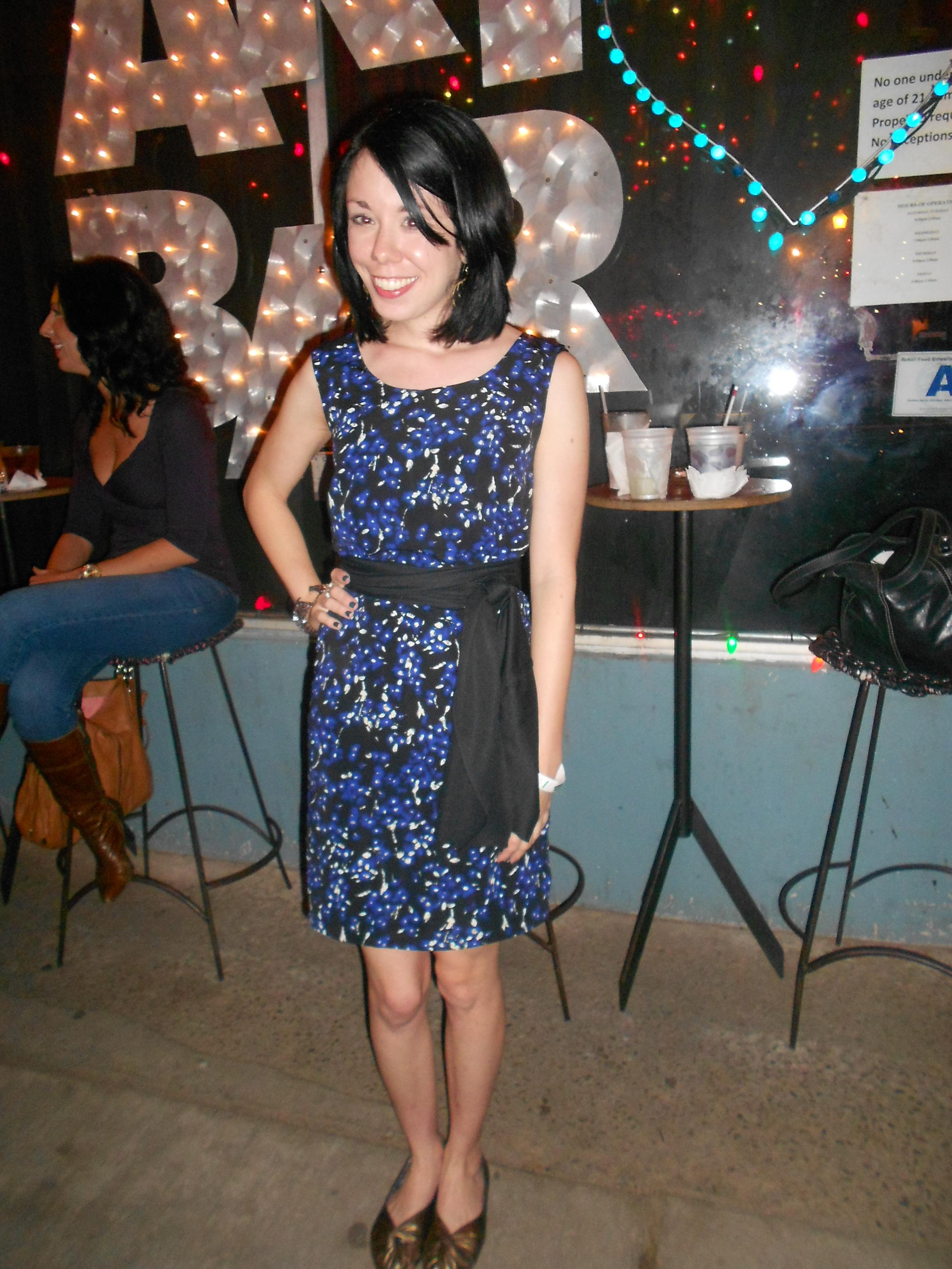Day 267: Jackson Pollock Dress 6