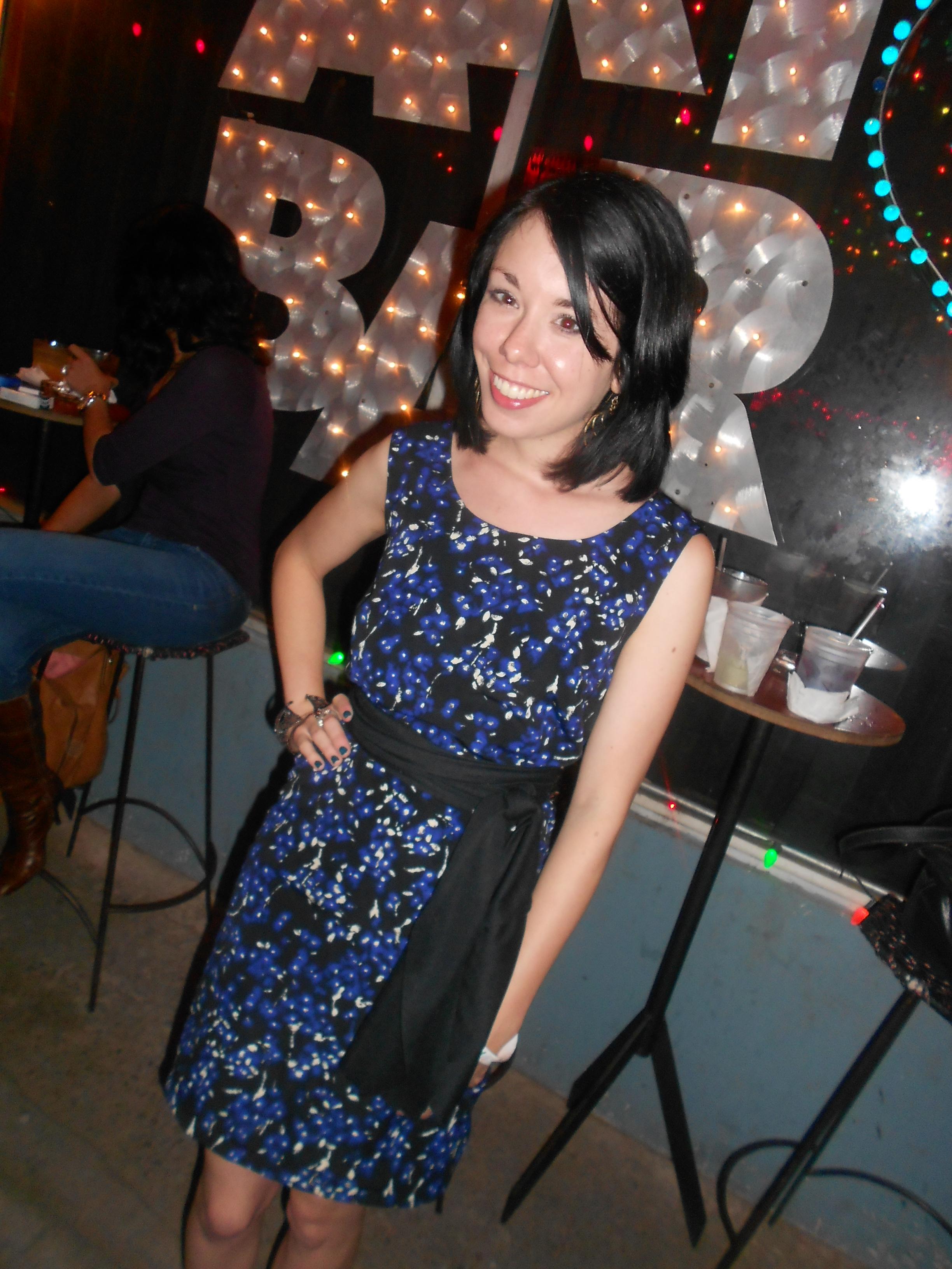 Day 267: Jackson Pollock Dress 8