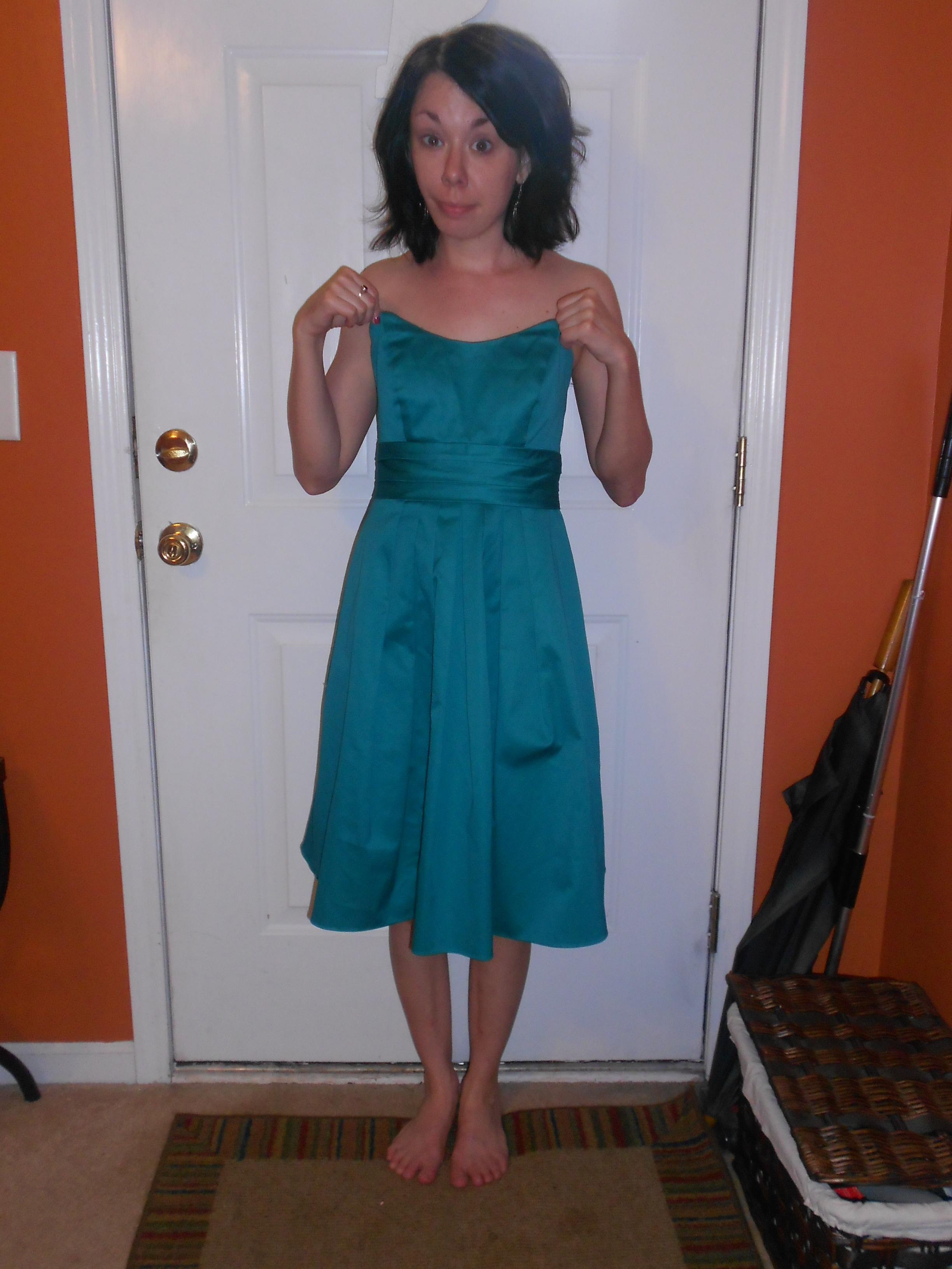 Day 272: Never a Bride Dress 2