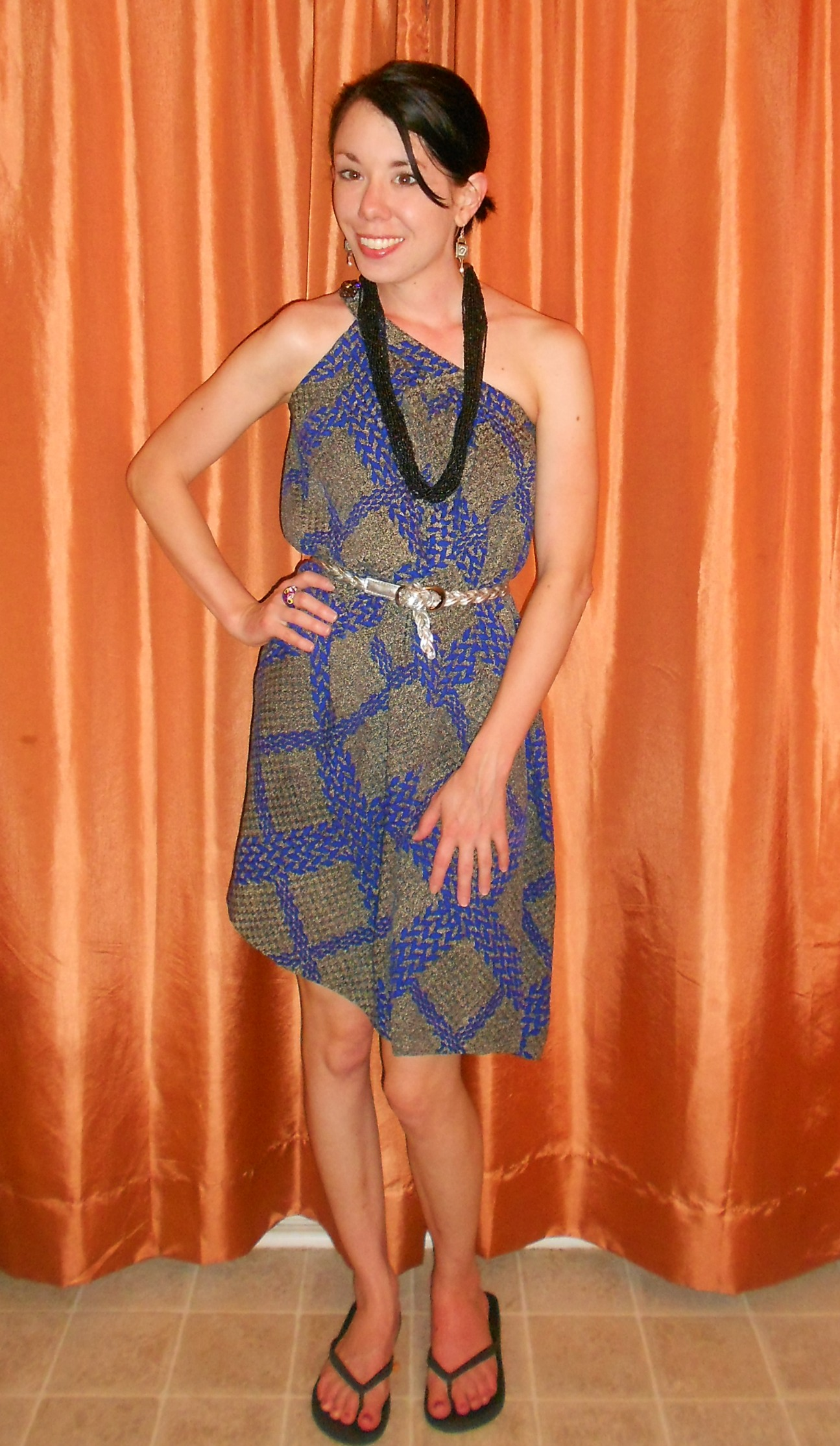 Day 276:  Indigo For It Dress 4