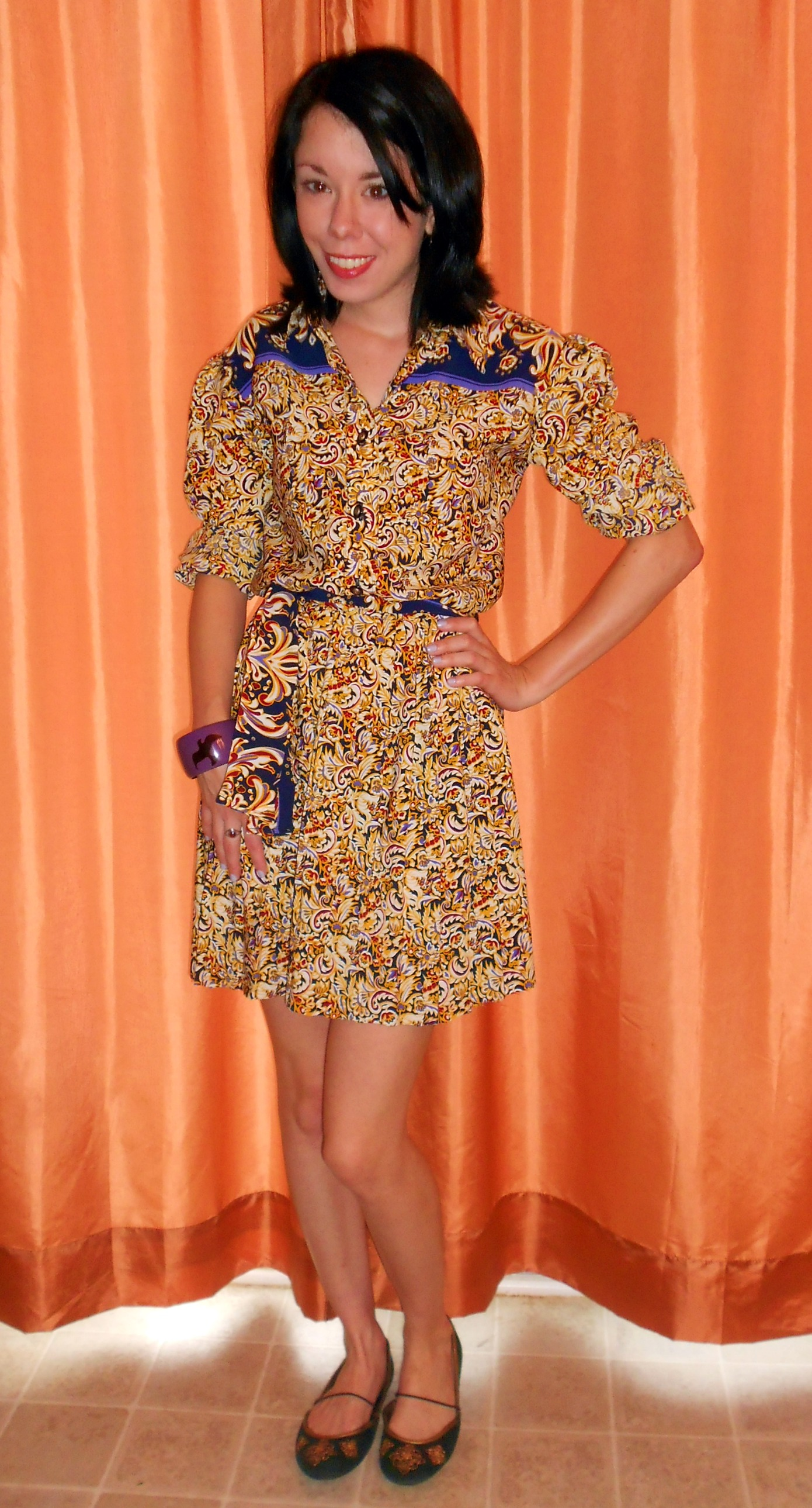 Day 292:  Marigold Dress 8