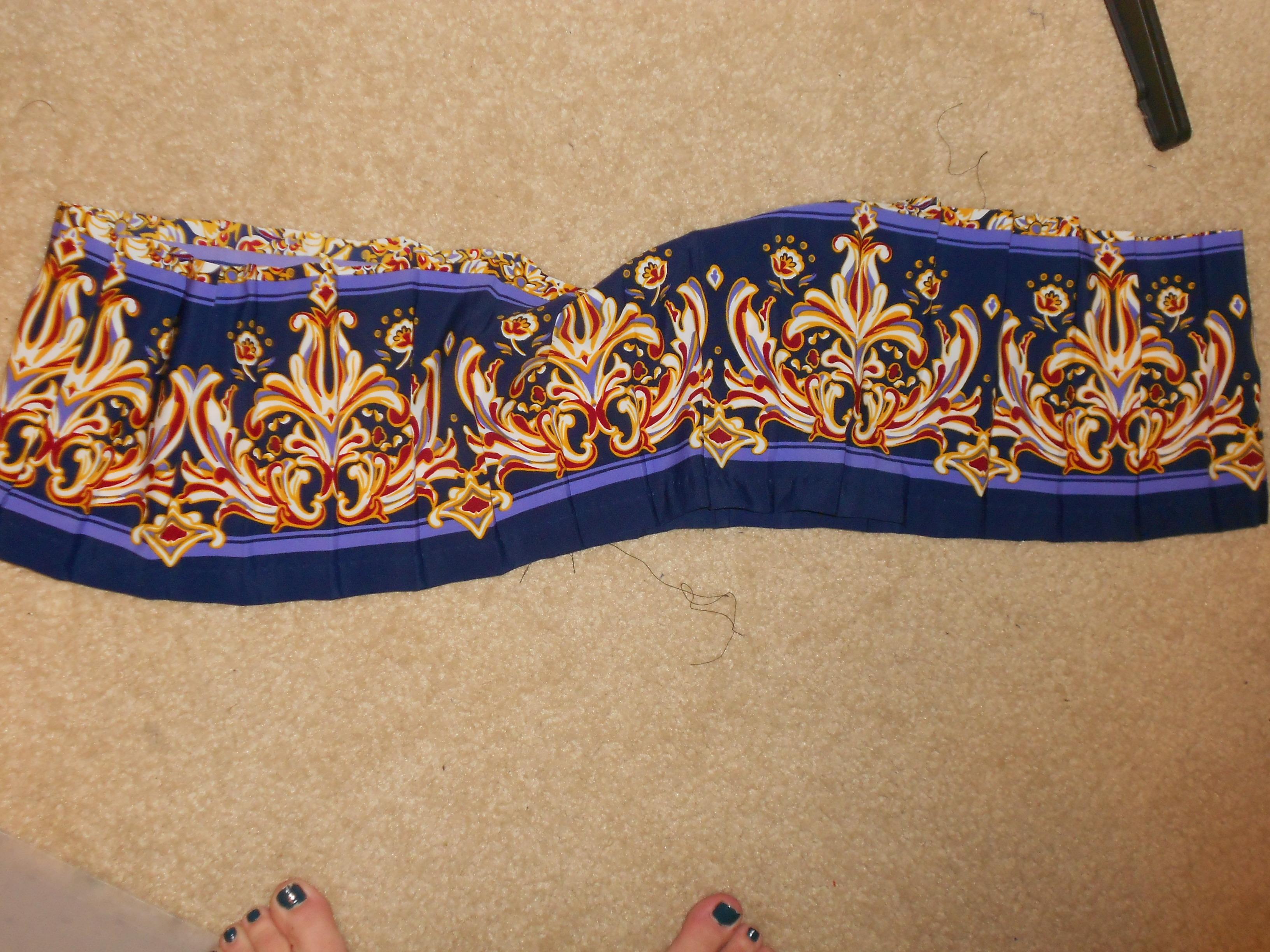 Day 292:  Marigold Dress 3