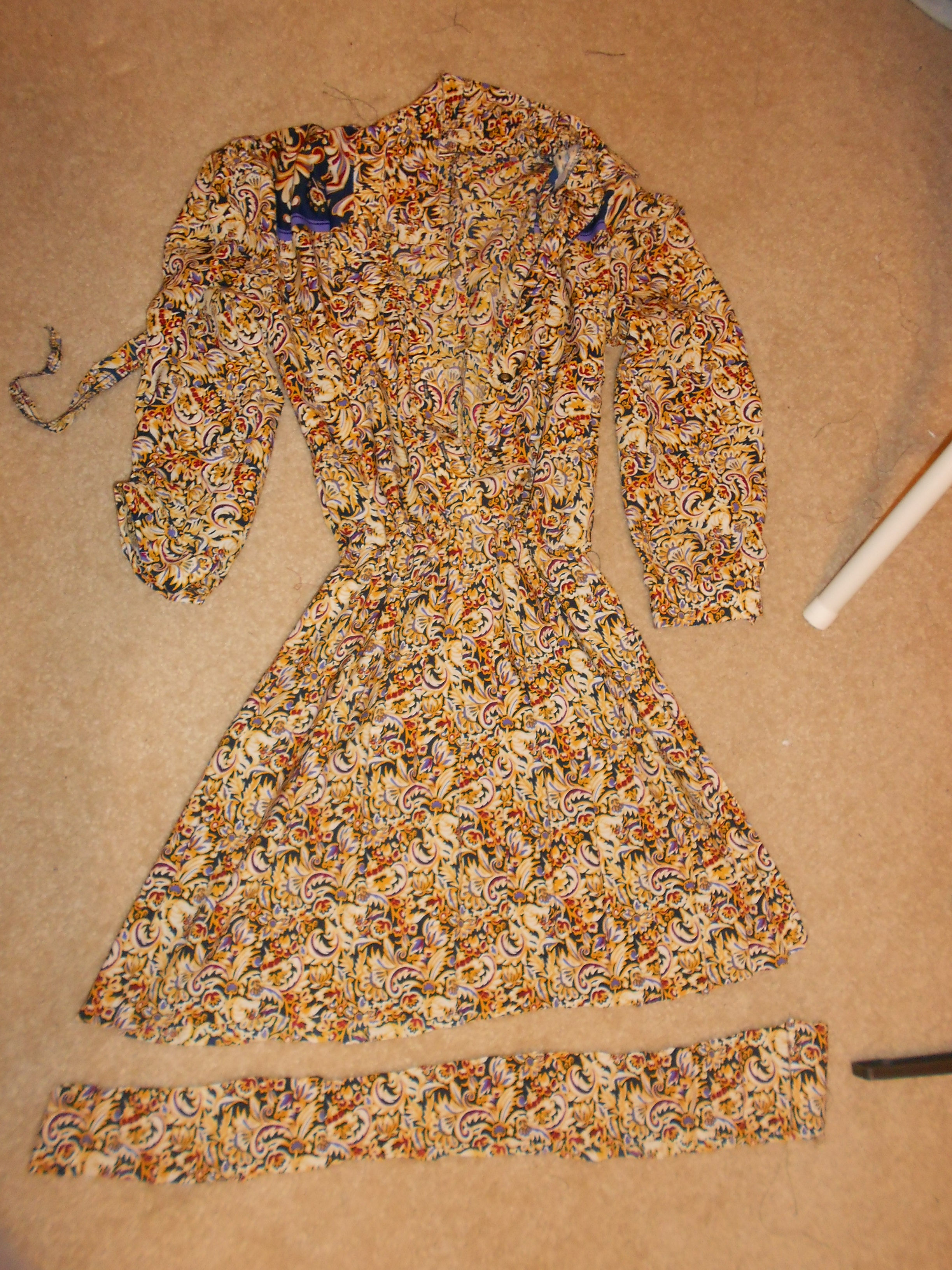 Day 292: Marigold Dress 6