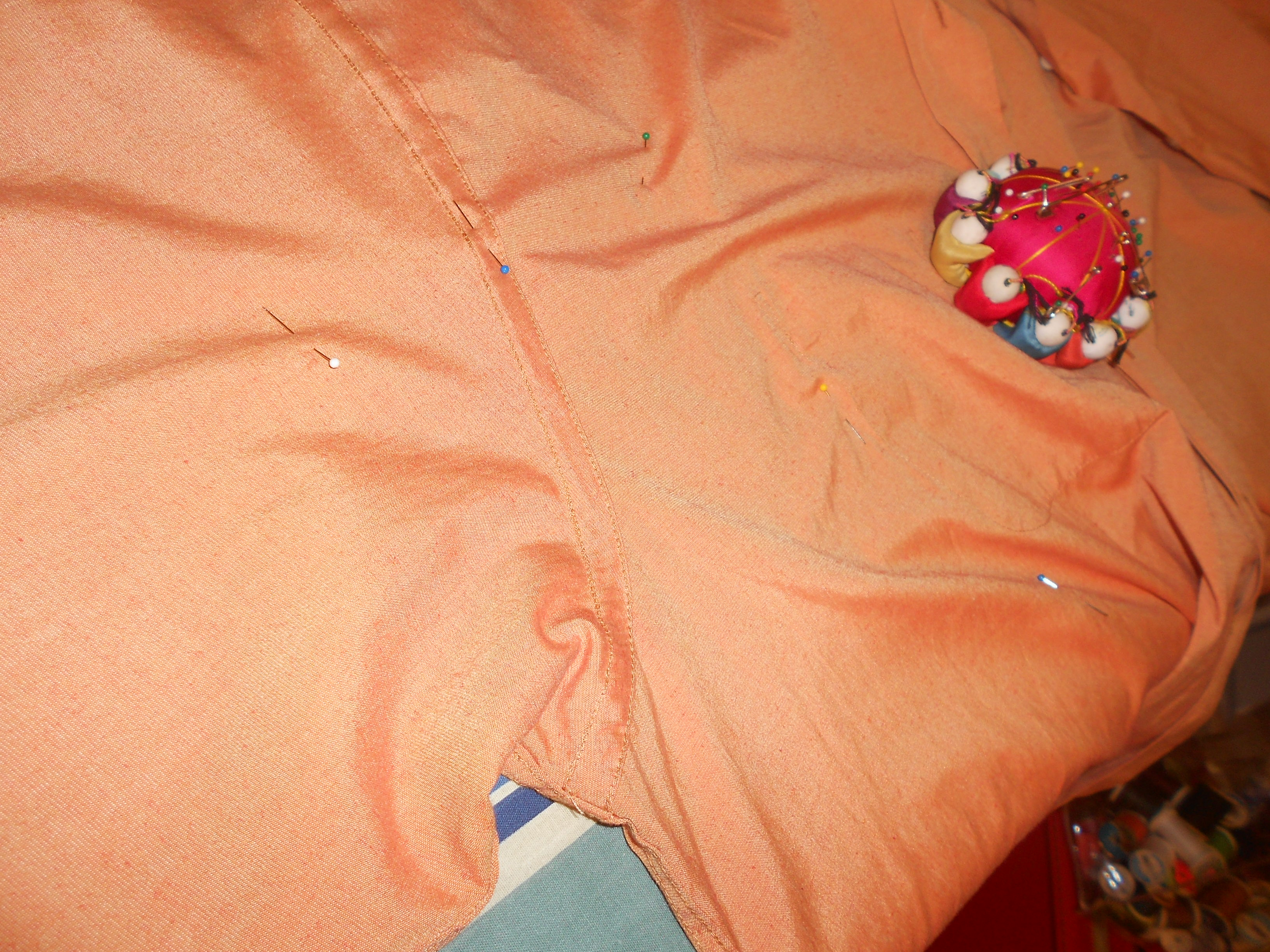 Day 301:  Tangerine Dream Dress 4