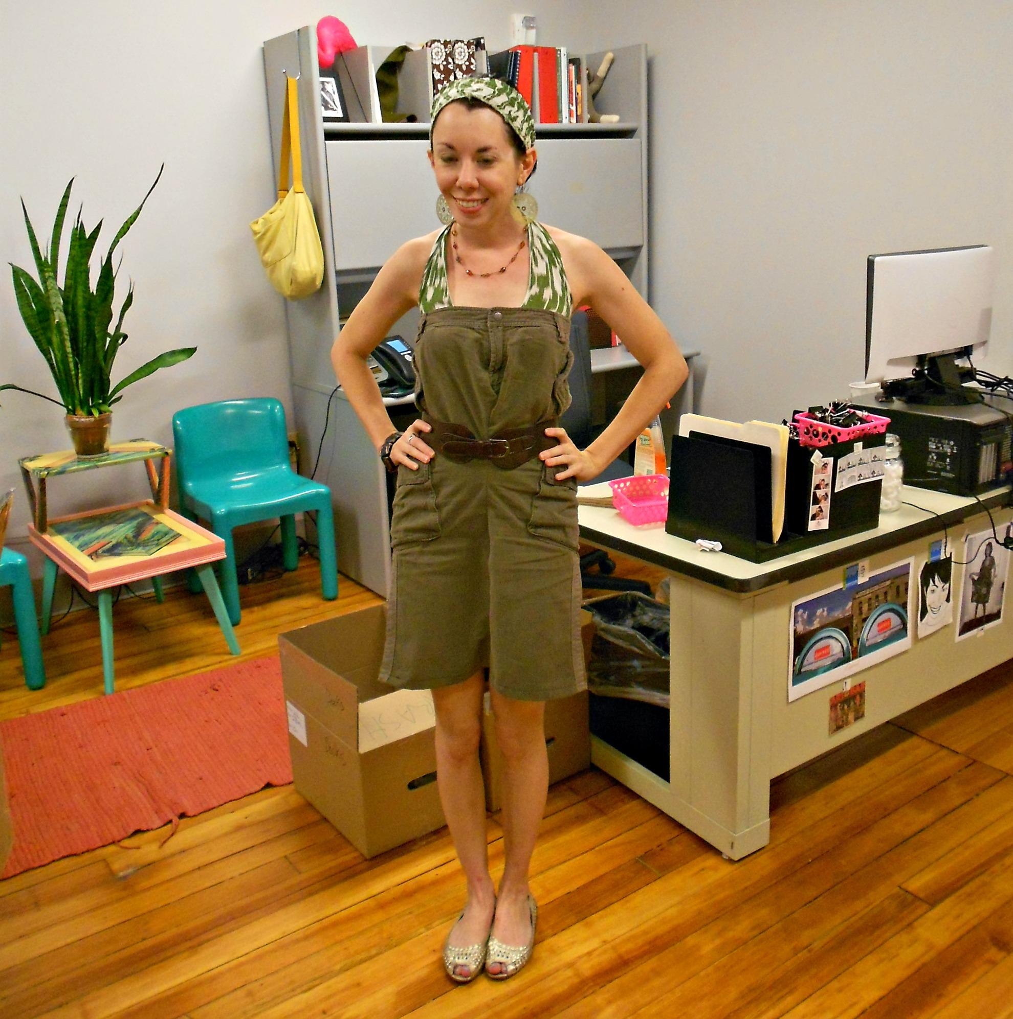 Day 313: A Pants-to-Dress Refashion 10