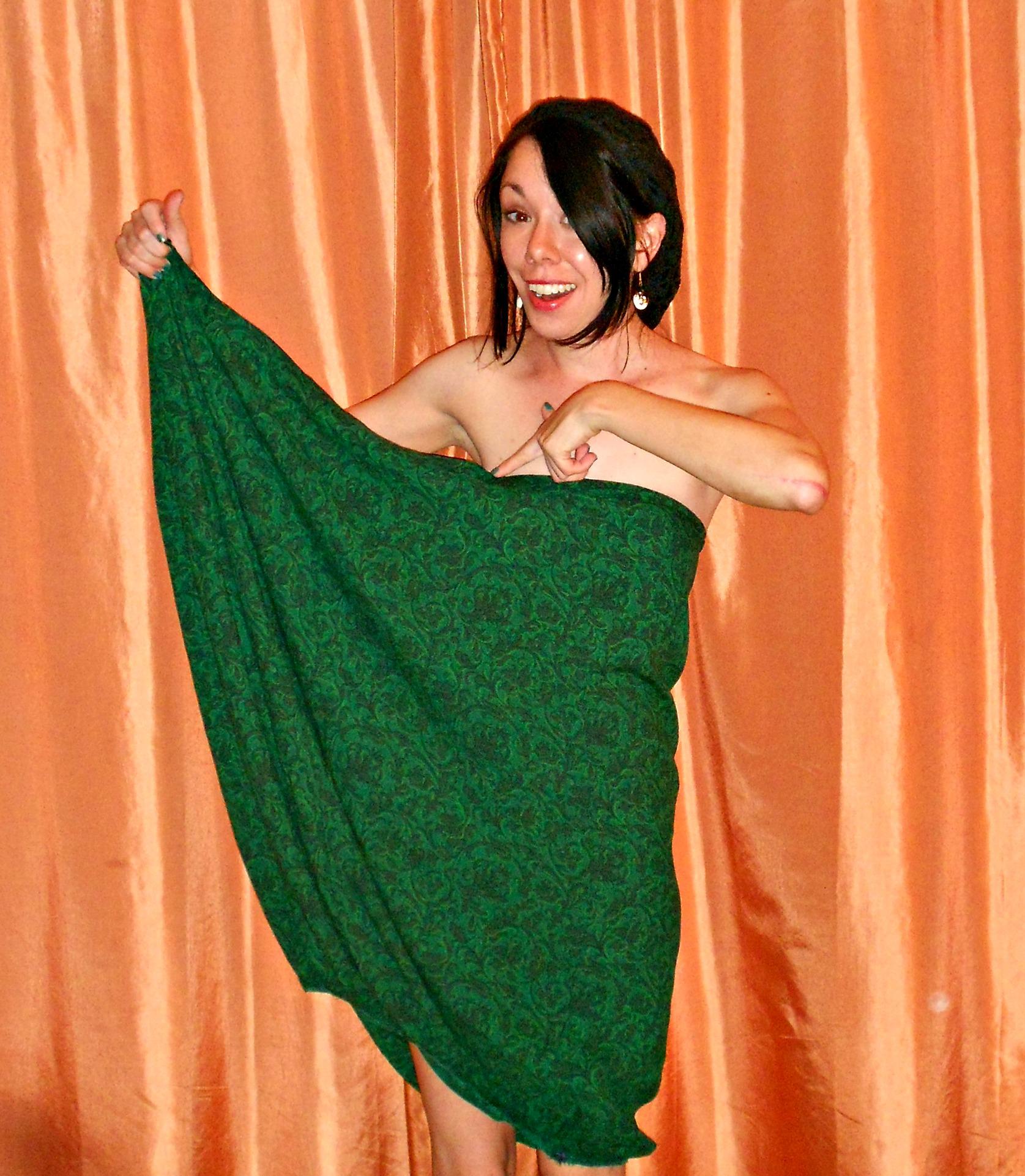 Day 326:  Grecian Bubble Dress 6