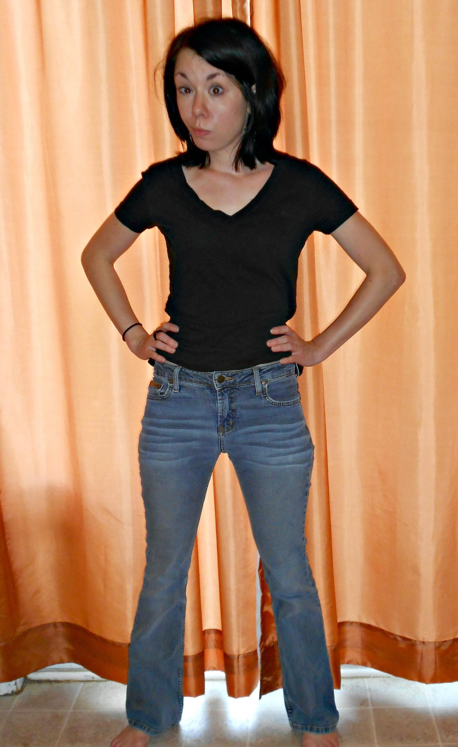 Day 330:  Dark & Stormy Jeans 2