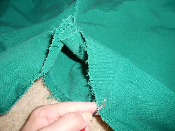 unpicking crotch seam