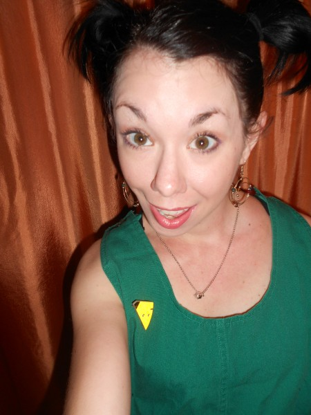 Day 304: Pregnant Pause: Maternity Overalls to Dress Refashion 4