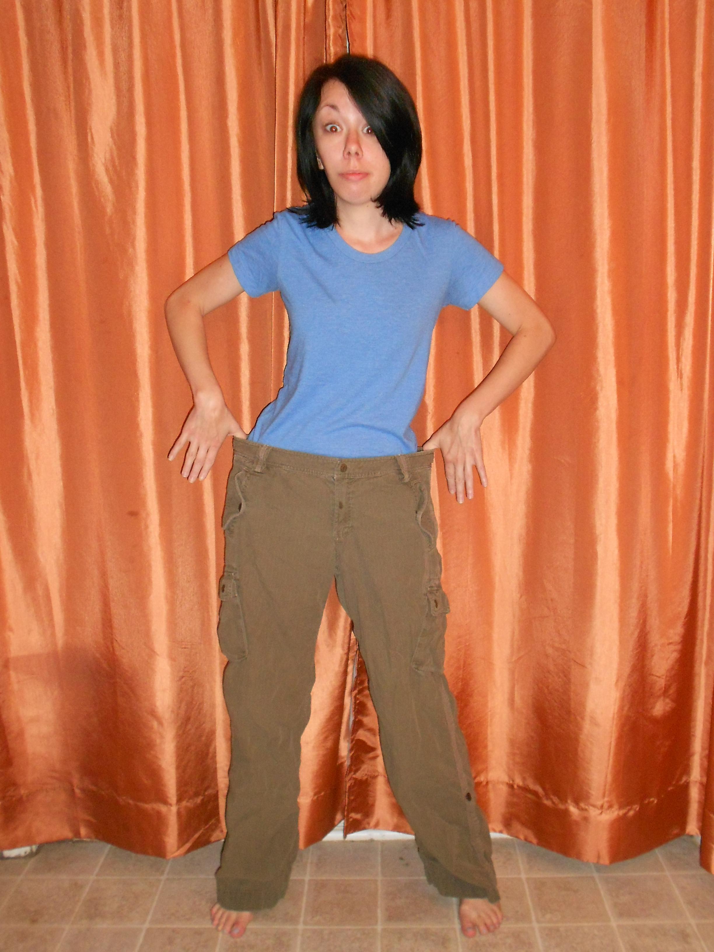 Day 313: A Pants-to-Dress Refashion 2