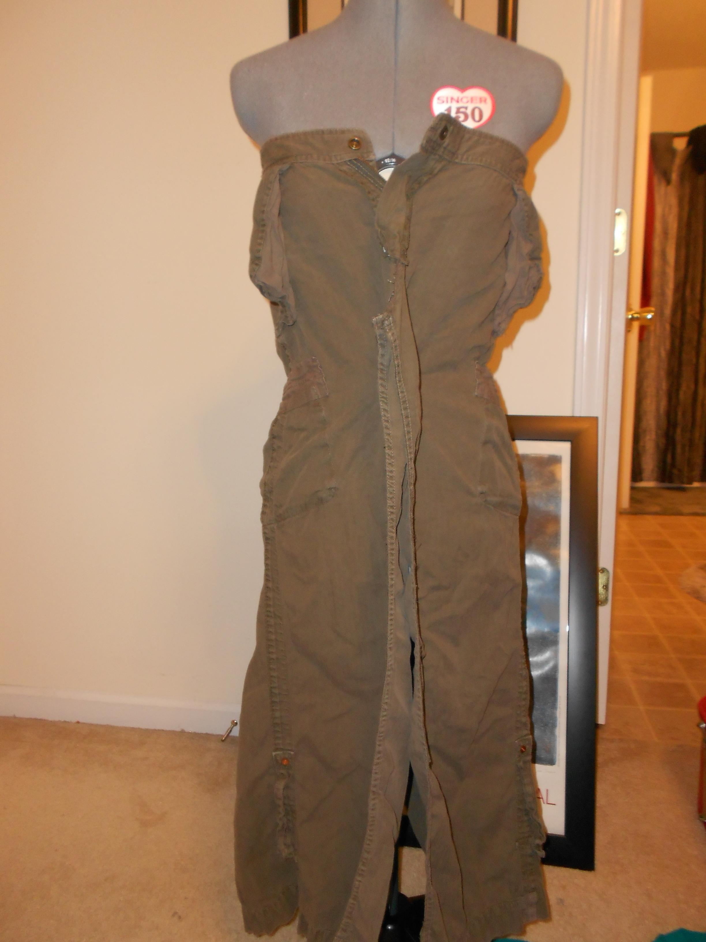 Day 313: A Pants-to-Dress Refashion 6
