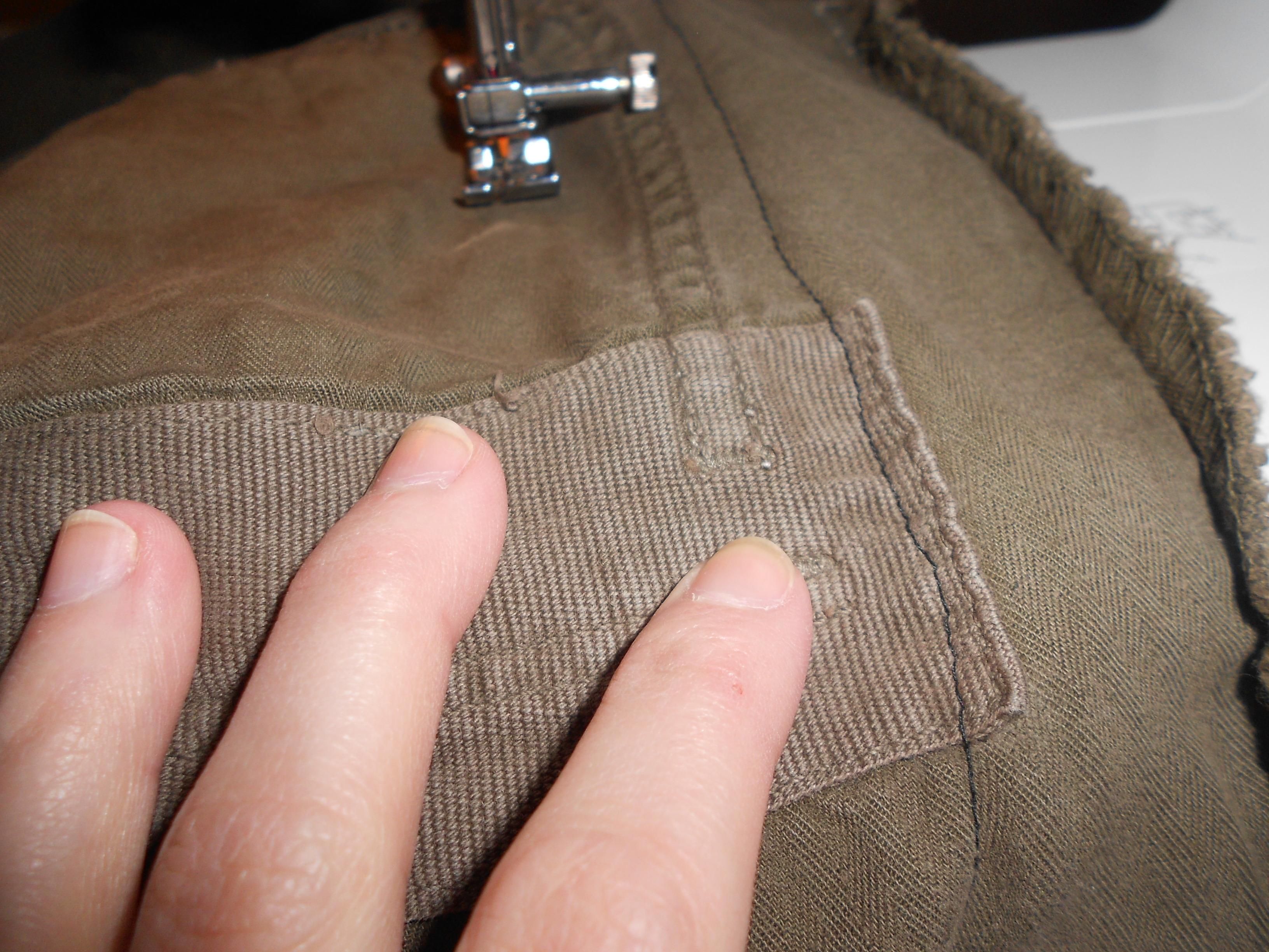Day 313: A Pants-to-Dress Refashion 8