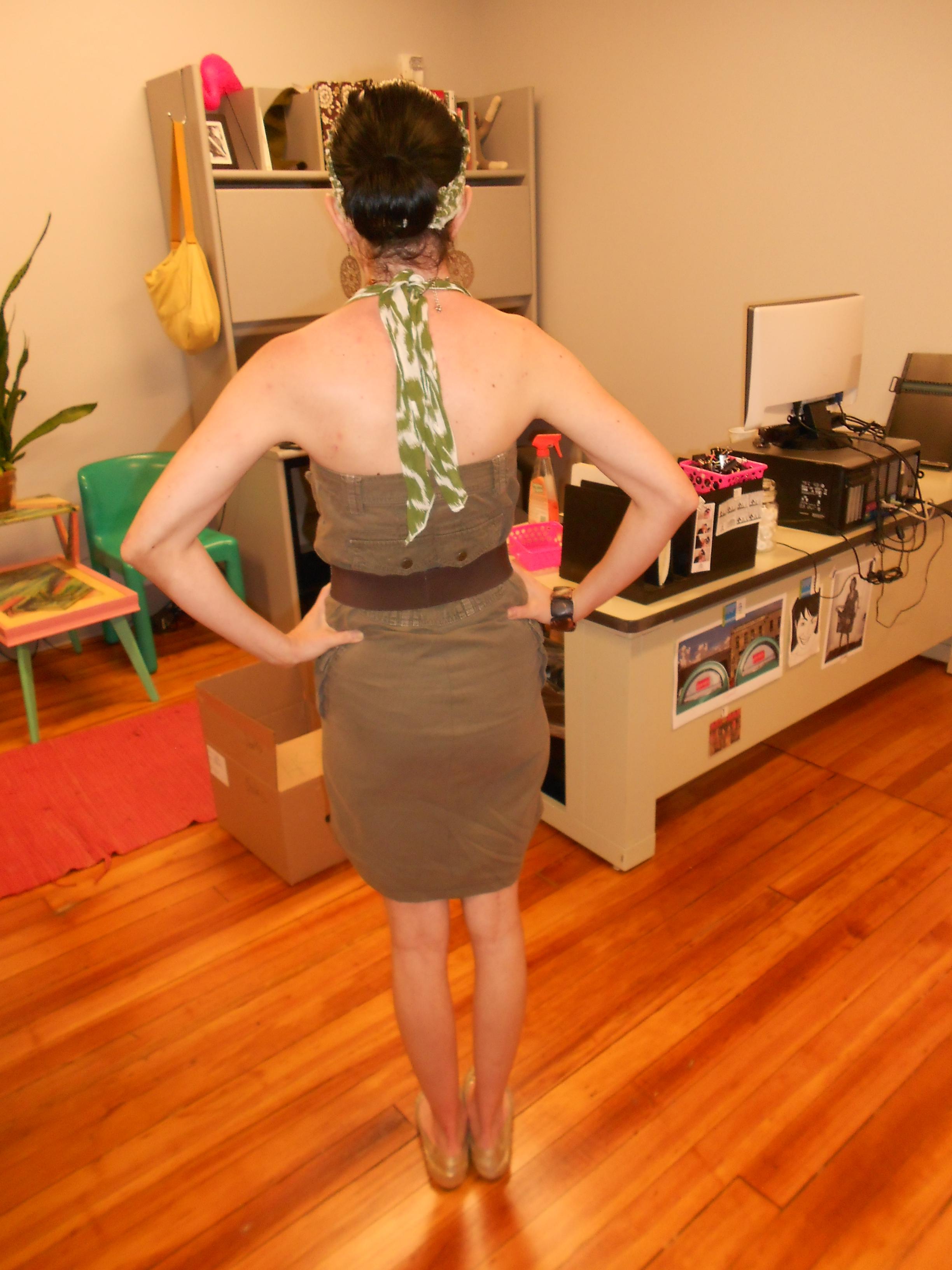 Day 313: A Pants-to-Dress Refashion 11