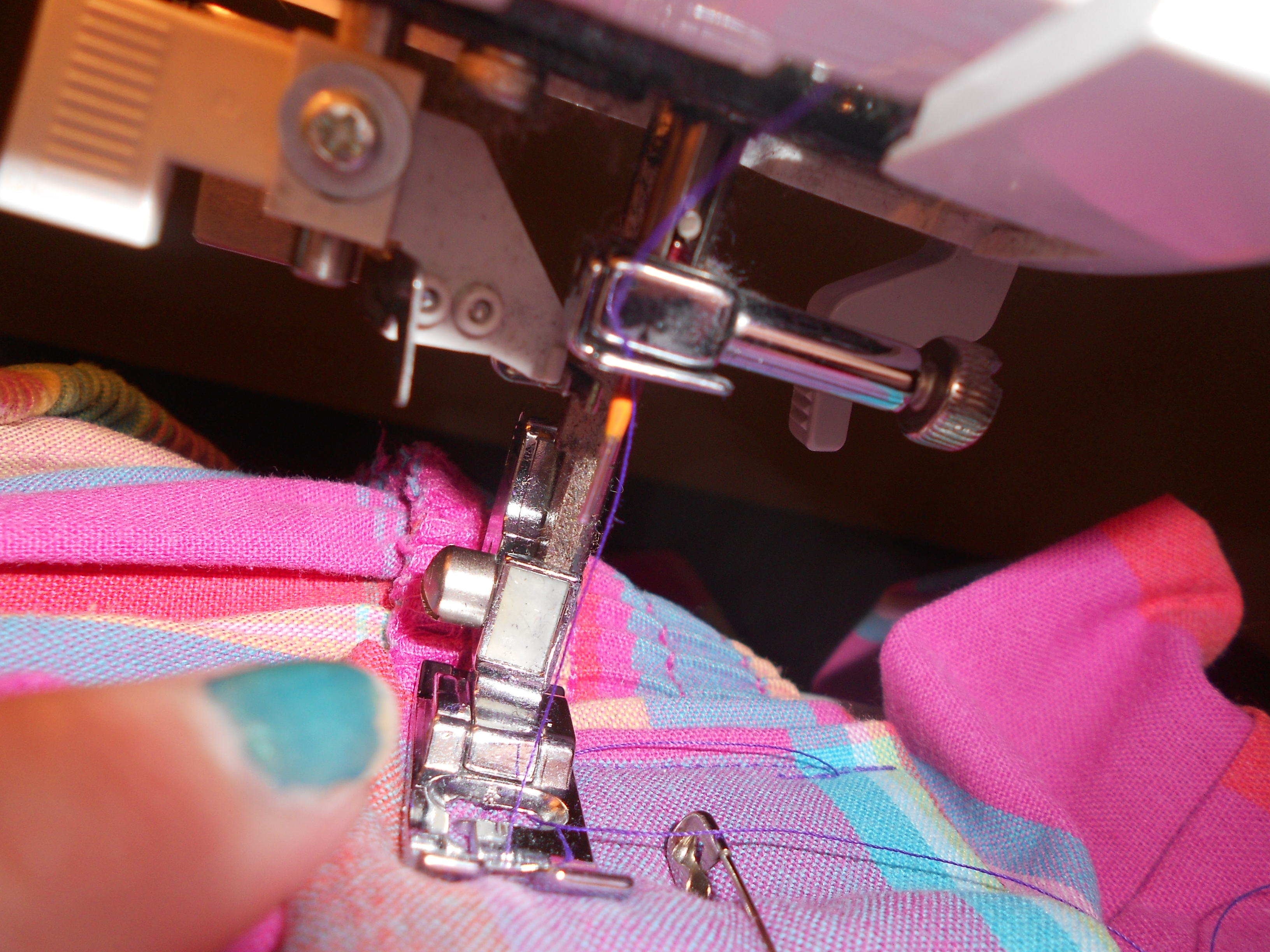 Day 325: How to Refashion a Skirt into a Handbag 8