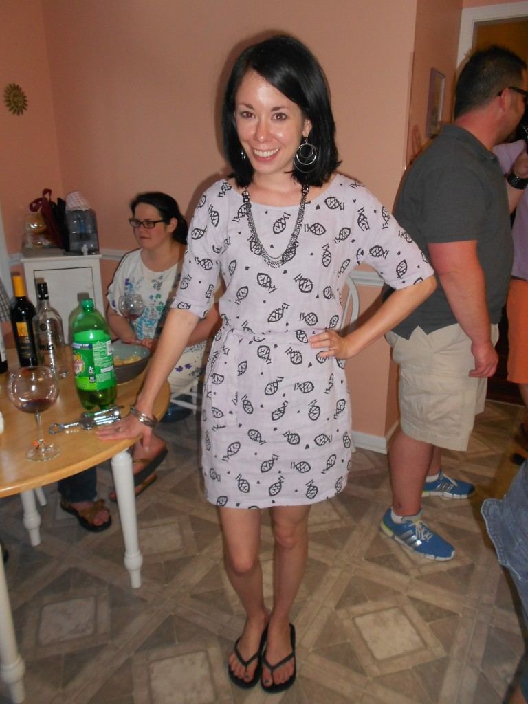 Day 332:  Tunactiy Dress Refashion 7
