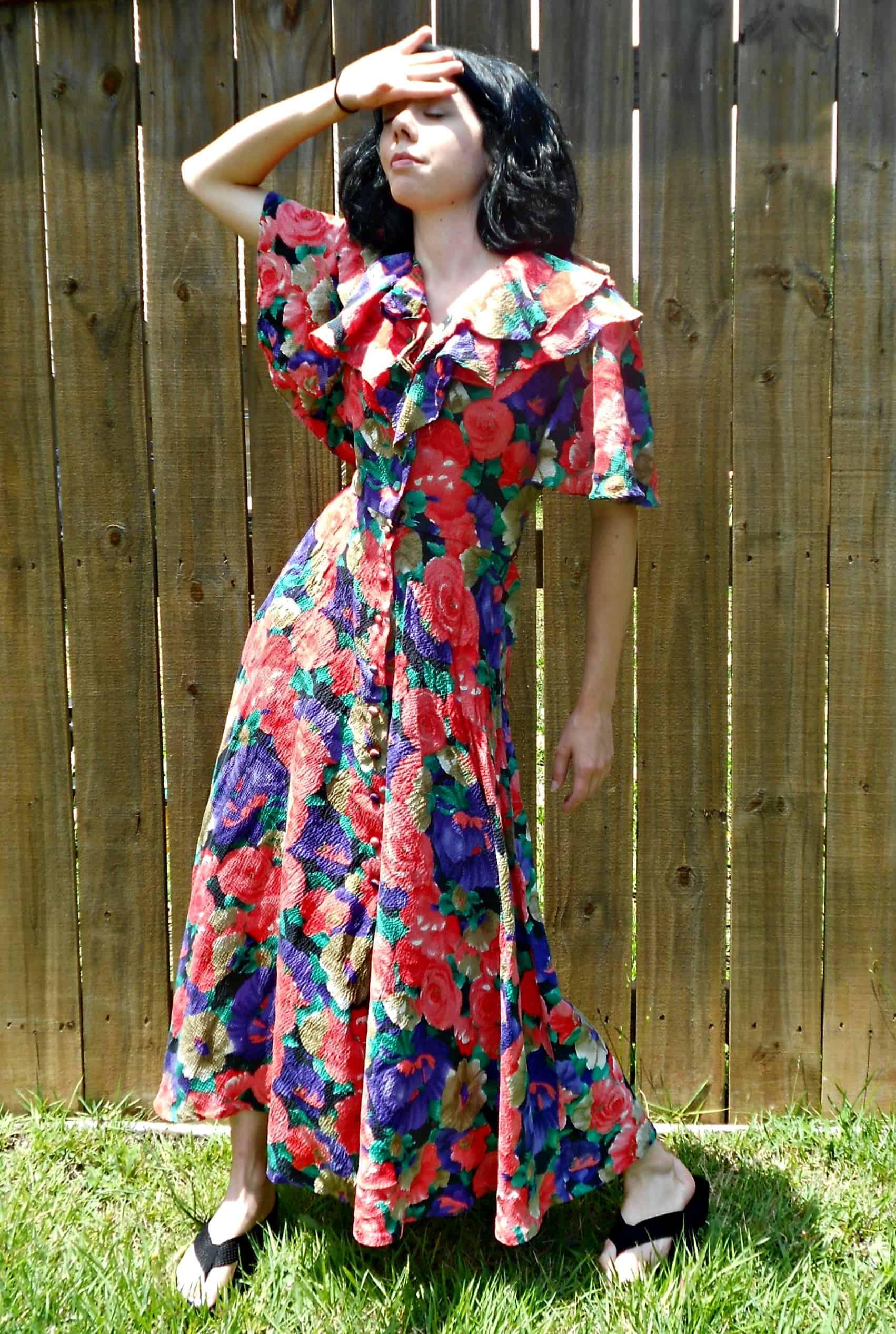 Day 346:  The Vapors Dress 2