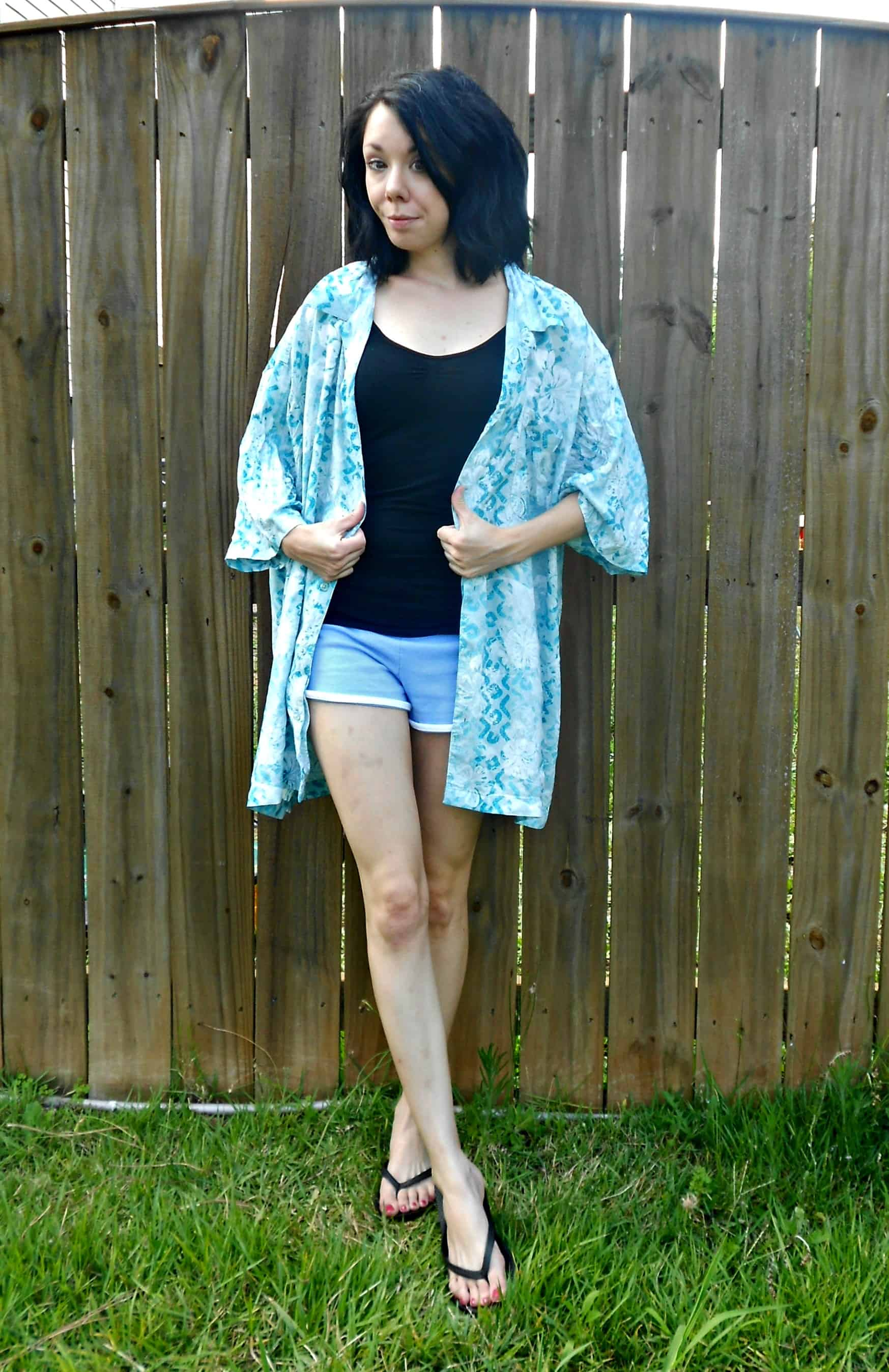 Day 352: Blue Cove Dress 2