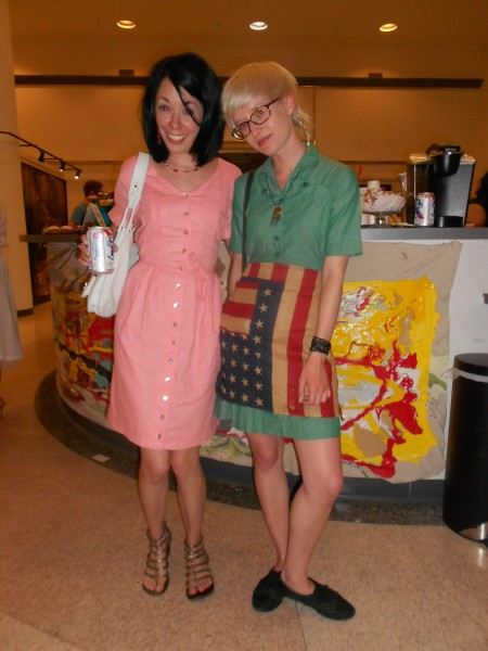 Day 337:  An Art Collector's '90s Collared Dress Refashion 7