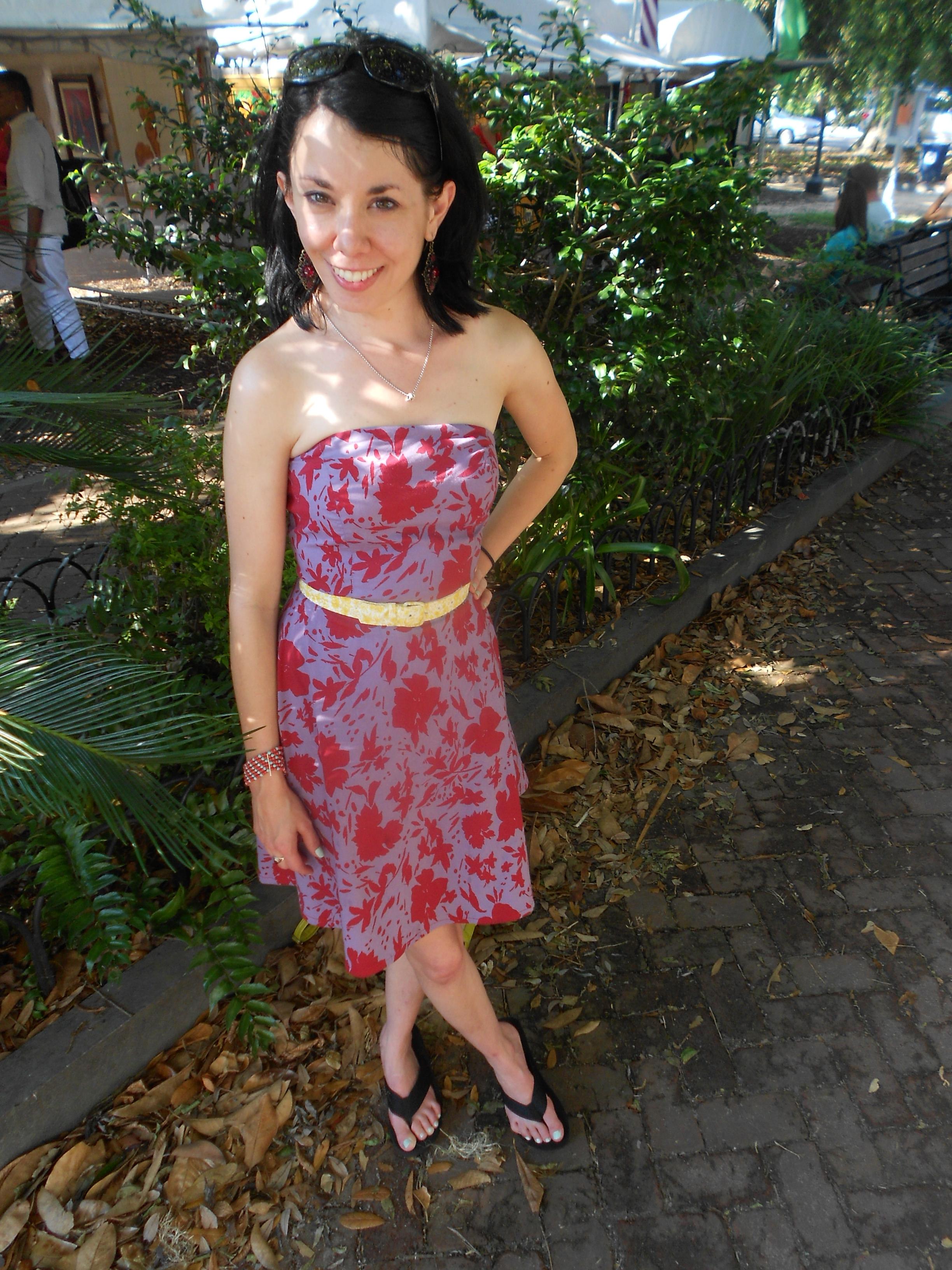 Day 338:  Spoleto Dress 10