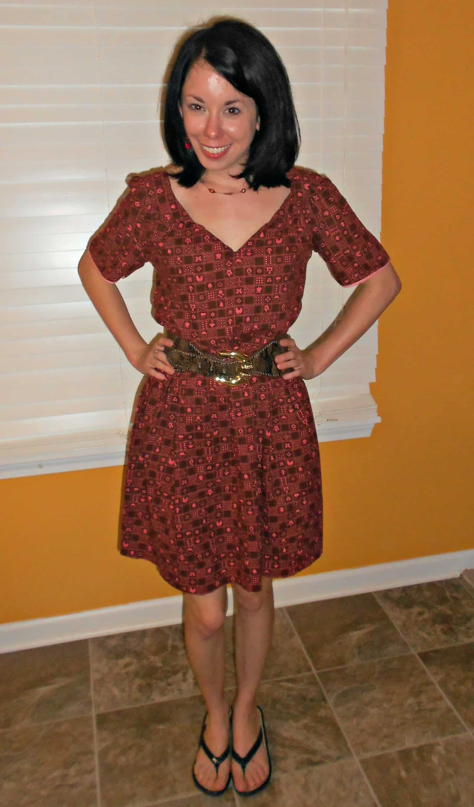 Day 365:  Kitschy Dress 1
