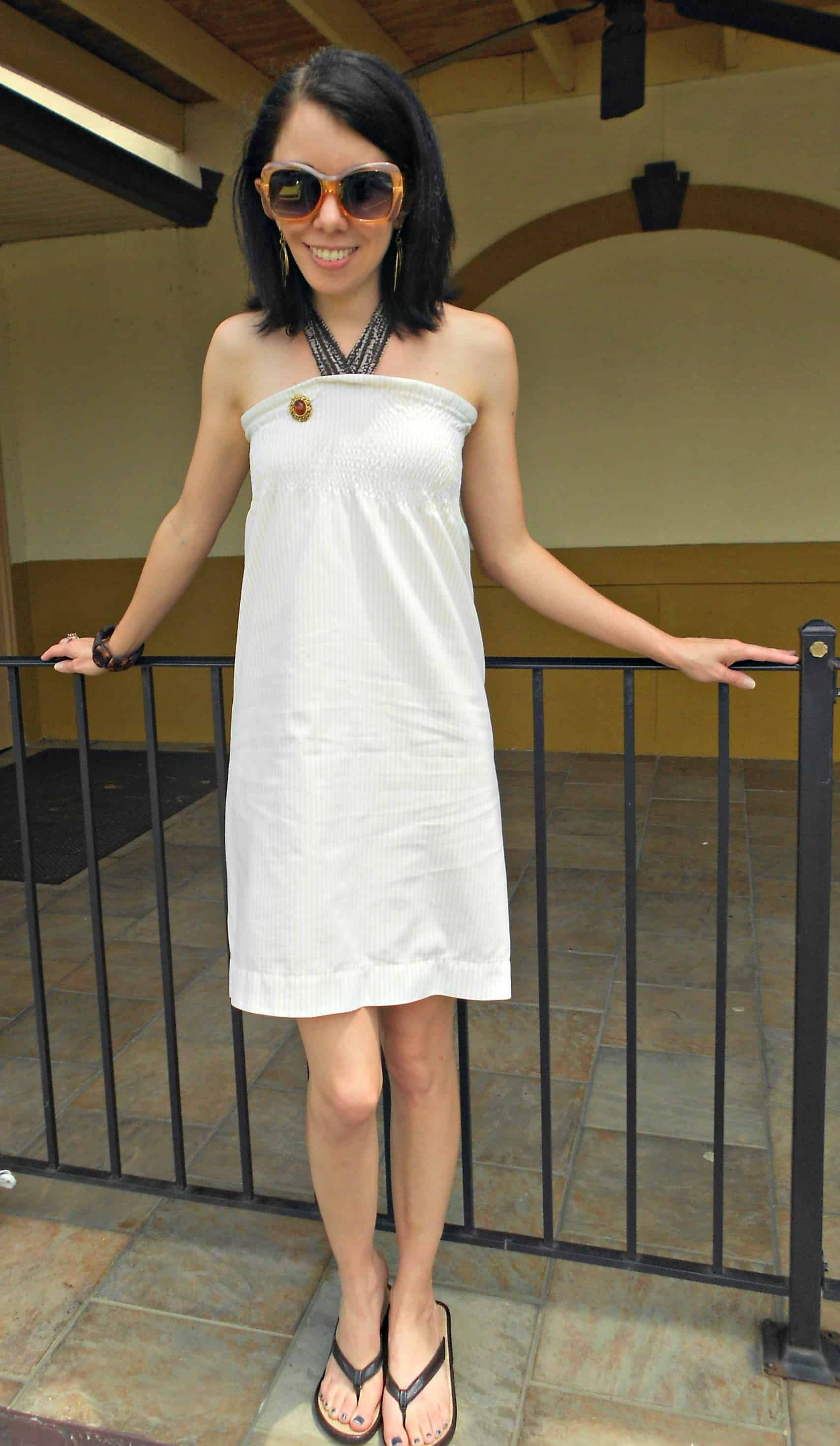 A Shirr Bet Pillowcase Dress / Save the Arts in SC! 11